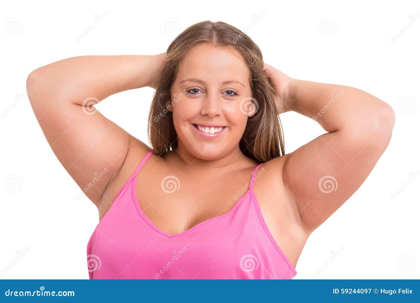 Mujer sobrepesada