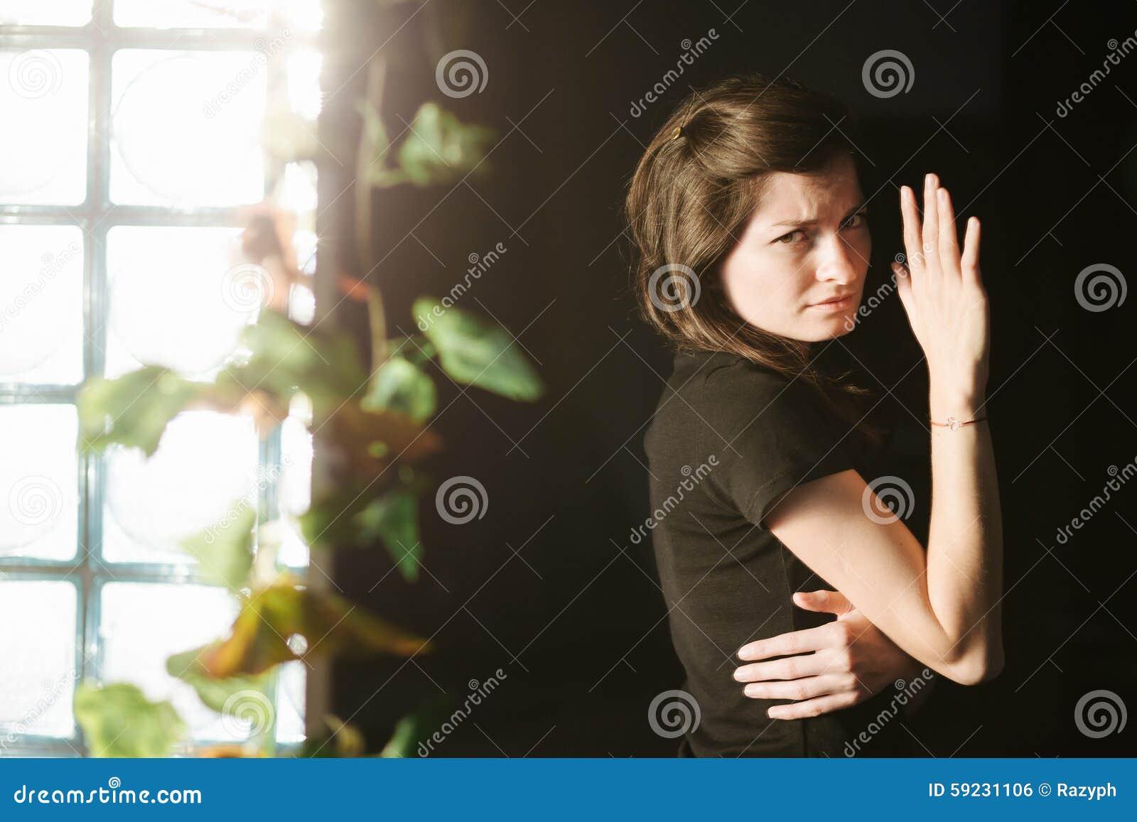 Mujer sufridora
