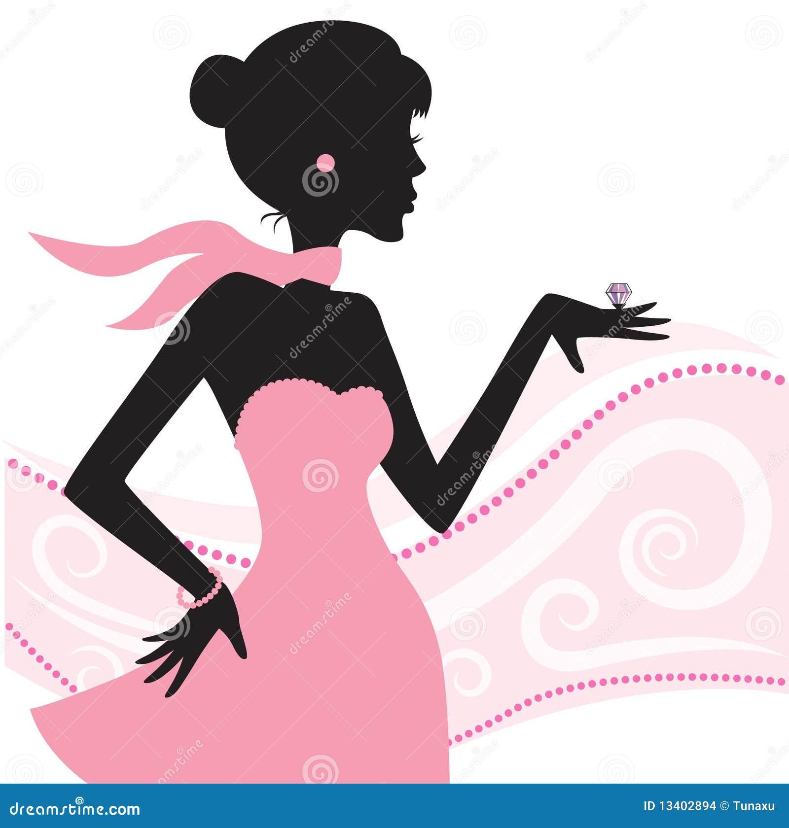 Mujeres con joyer a ilustraci n del vector ilustraci n de for Art premier