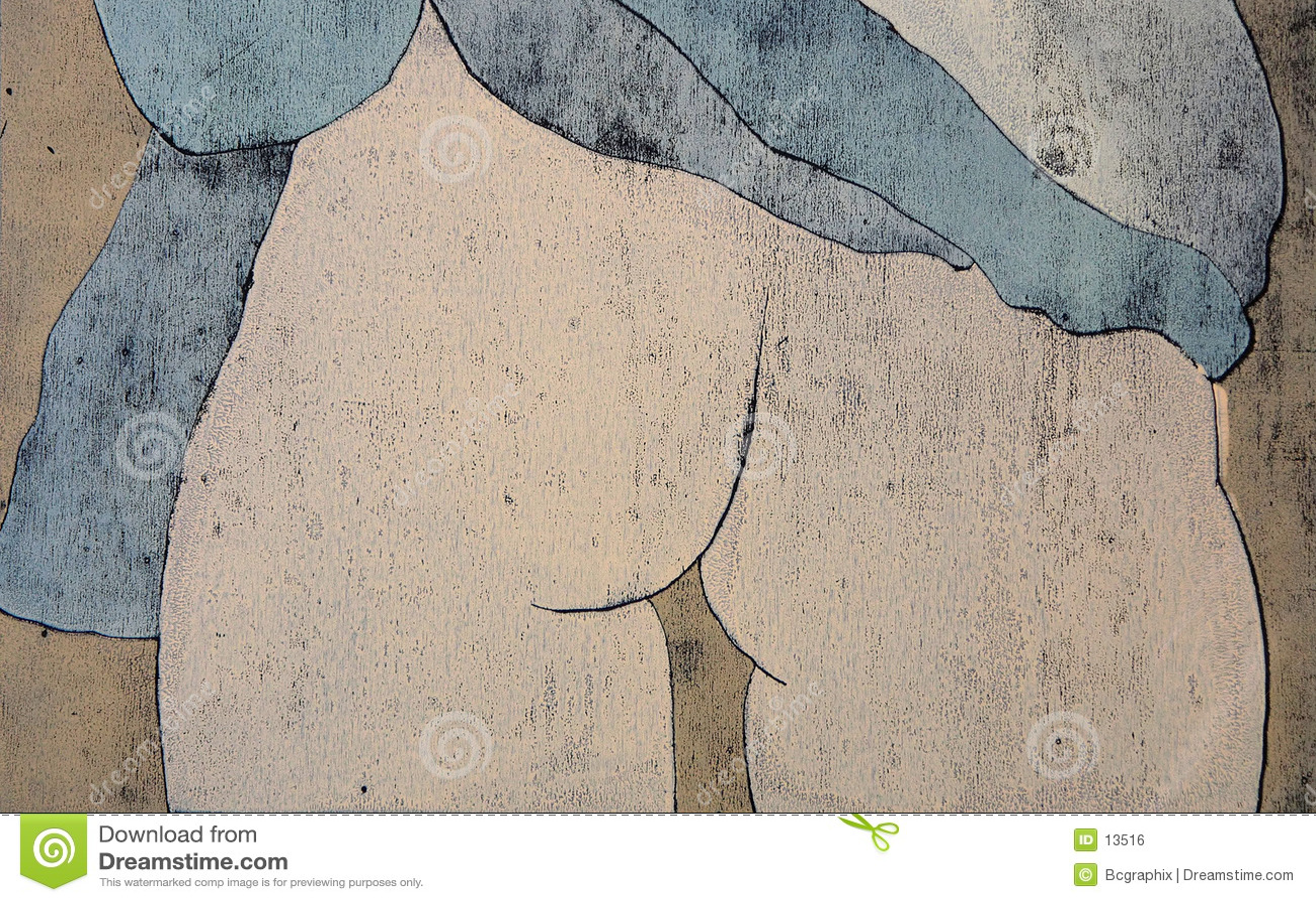 Mujeres detrás de desnudar
