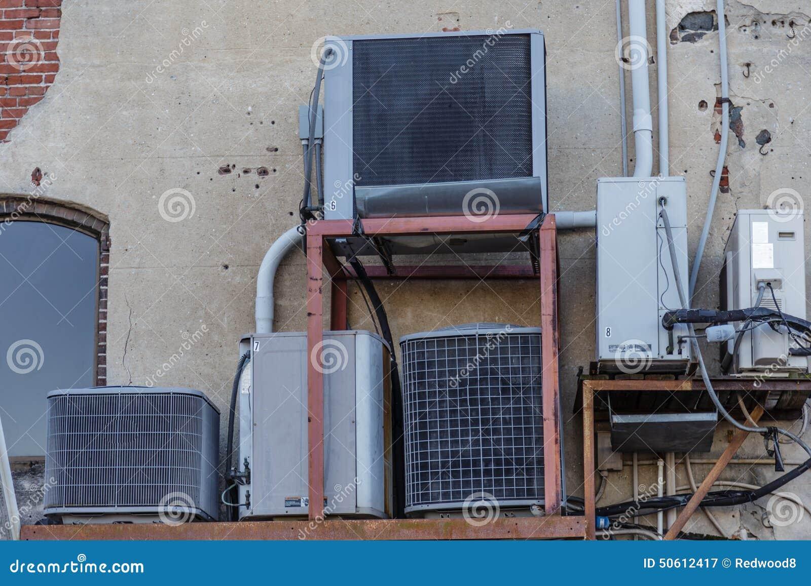 Mujltiple HVAC jednostki