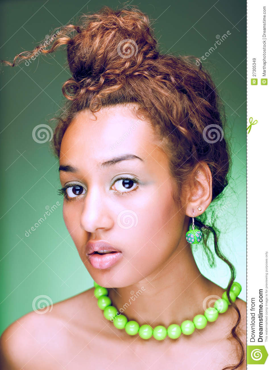 mulatto woman royalty free stock images image 27305349