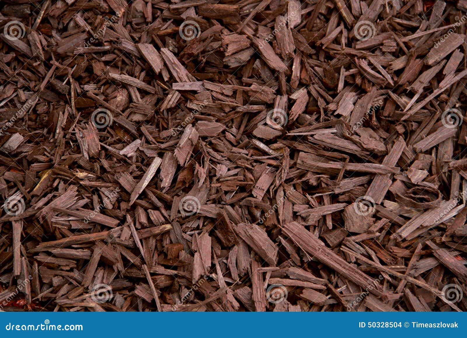 Mulch Brown Decorative Bark Stock Photo - Image: 50328504