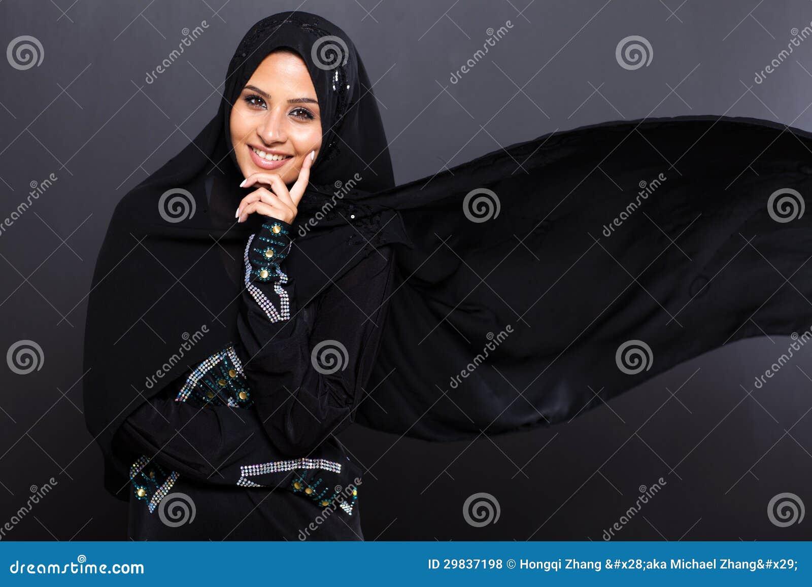 Mulher árabe elegante