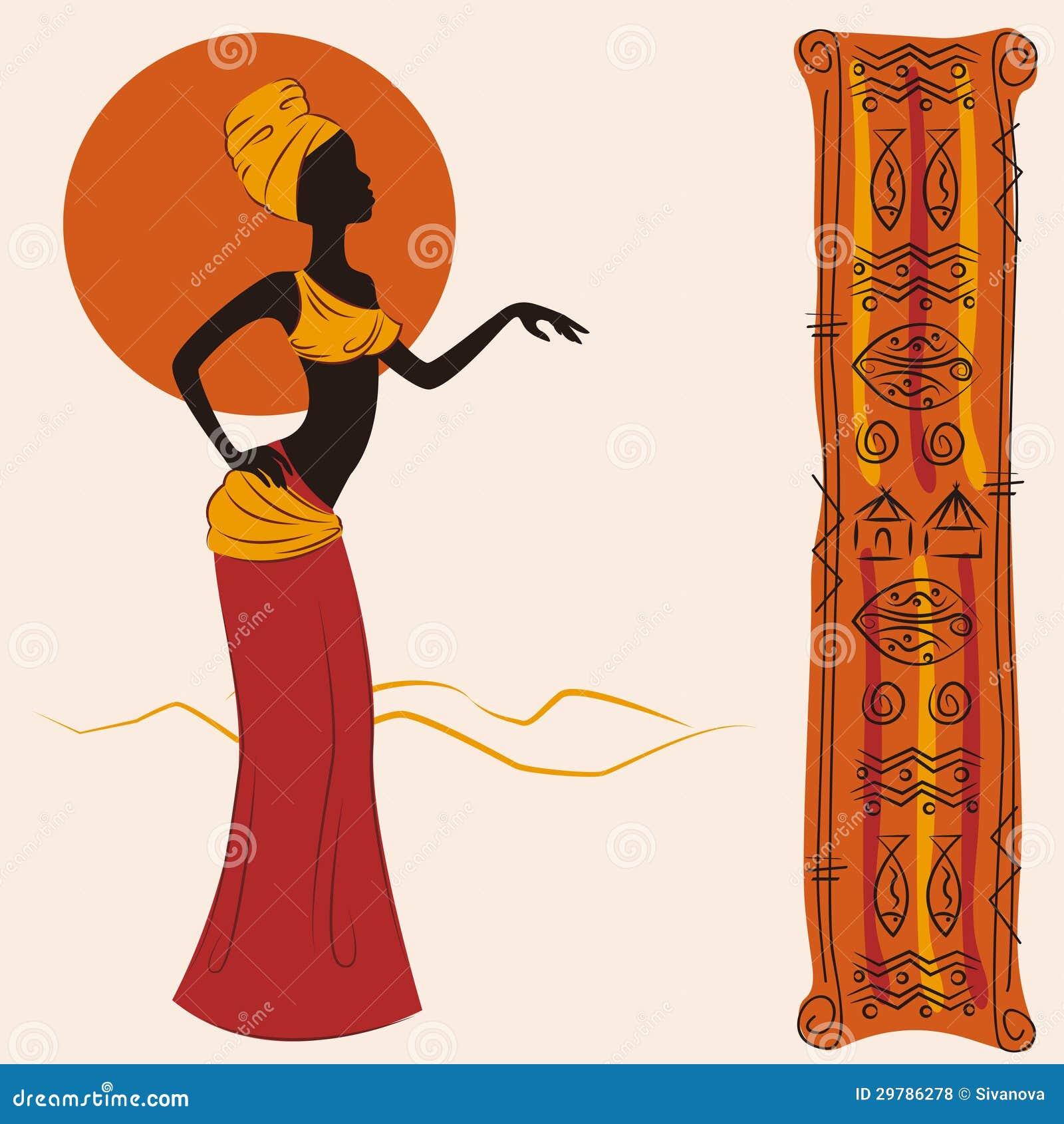 mulher-americana-africana-bonita-e-e-teste-padro-antigo-ilustrao-do-desenho-da-mo-29786278.jpg