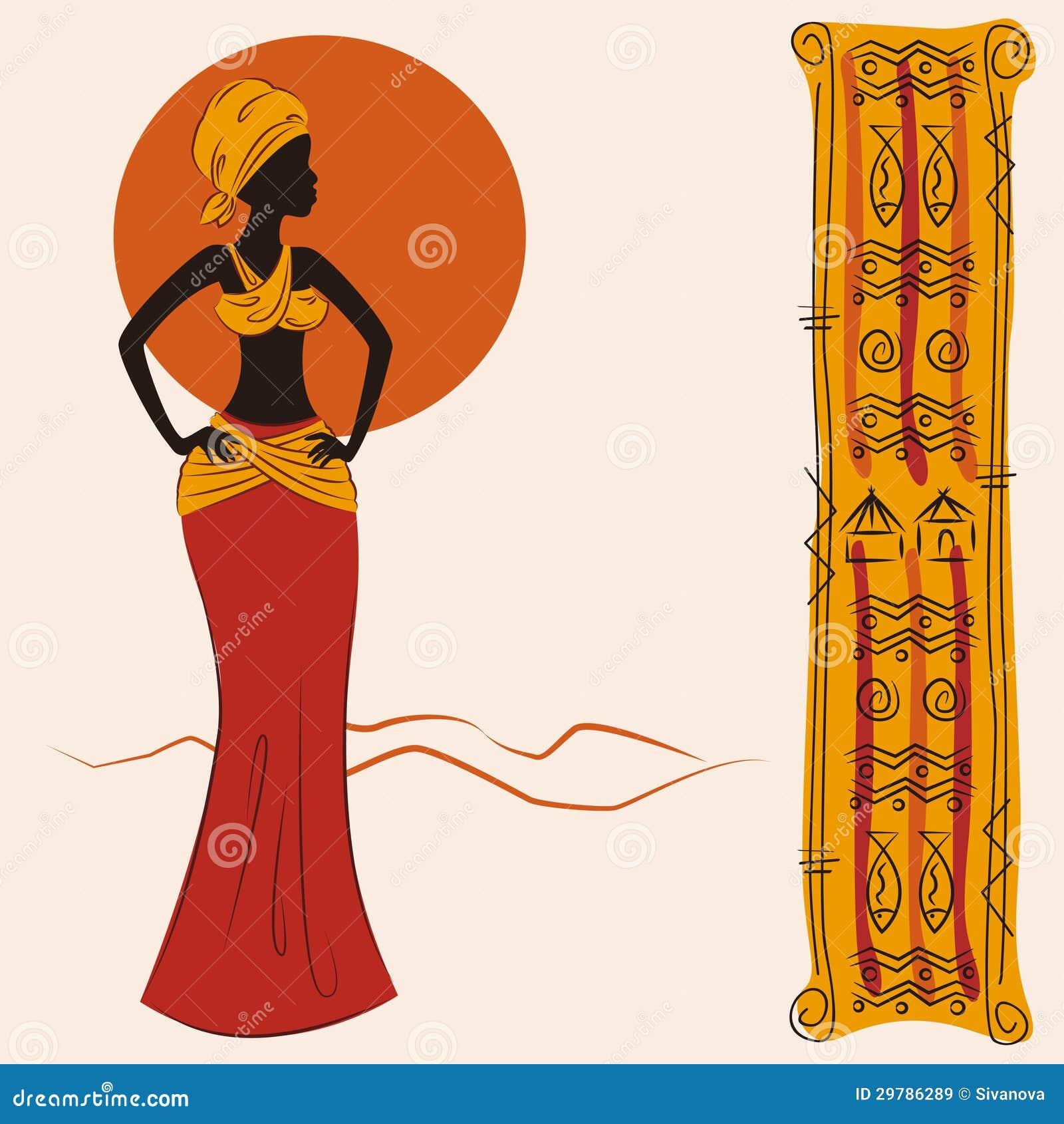 mulher-americana-africana-bonita-e-e-teste-padro-antigo-ilustrao-do-desenho-da-mo-29786289.jpg