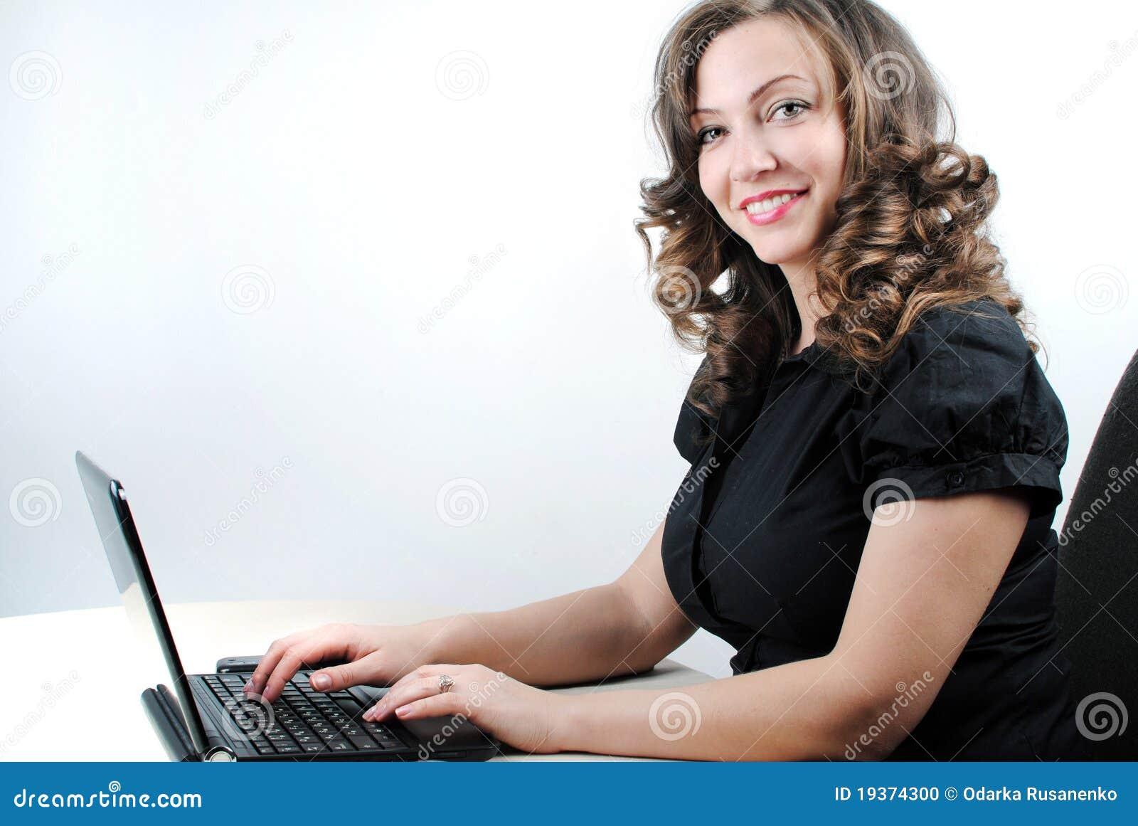 Mulher bem sucedida nova