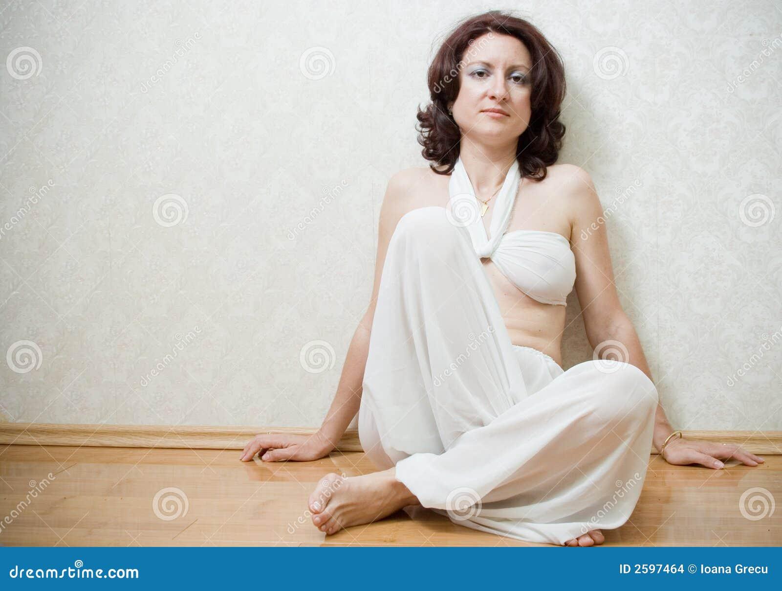 Mulher bonita do zen