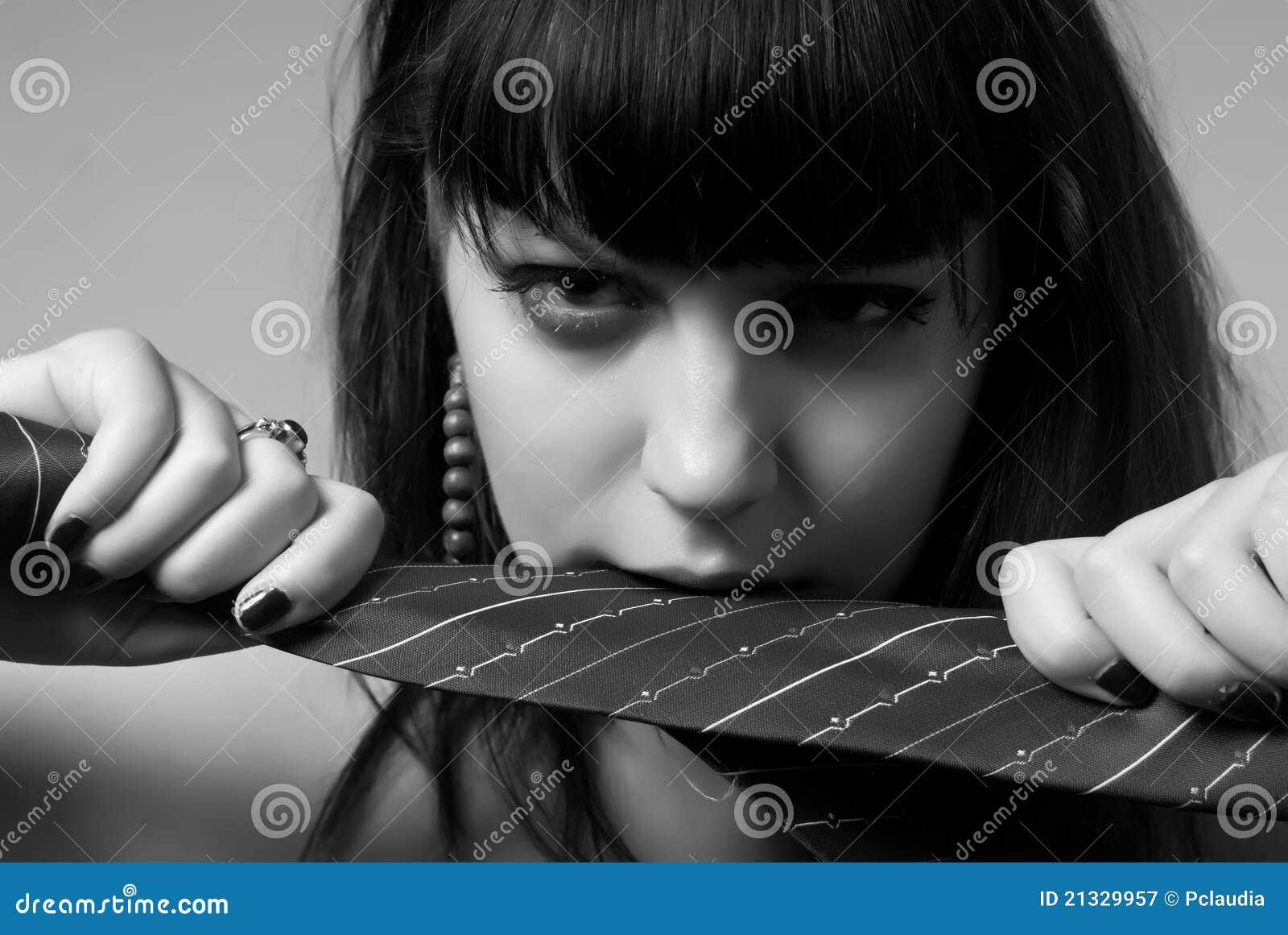 Mulher com laço
