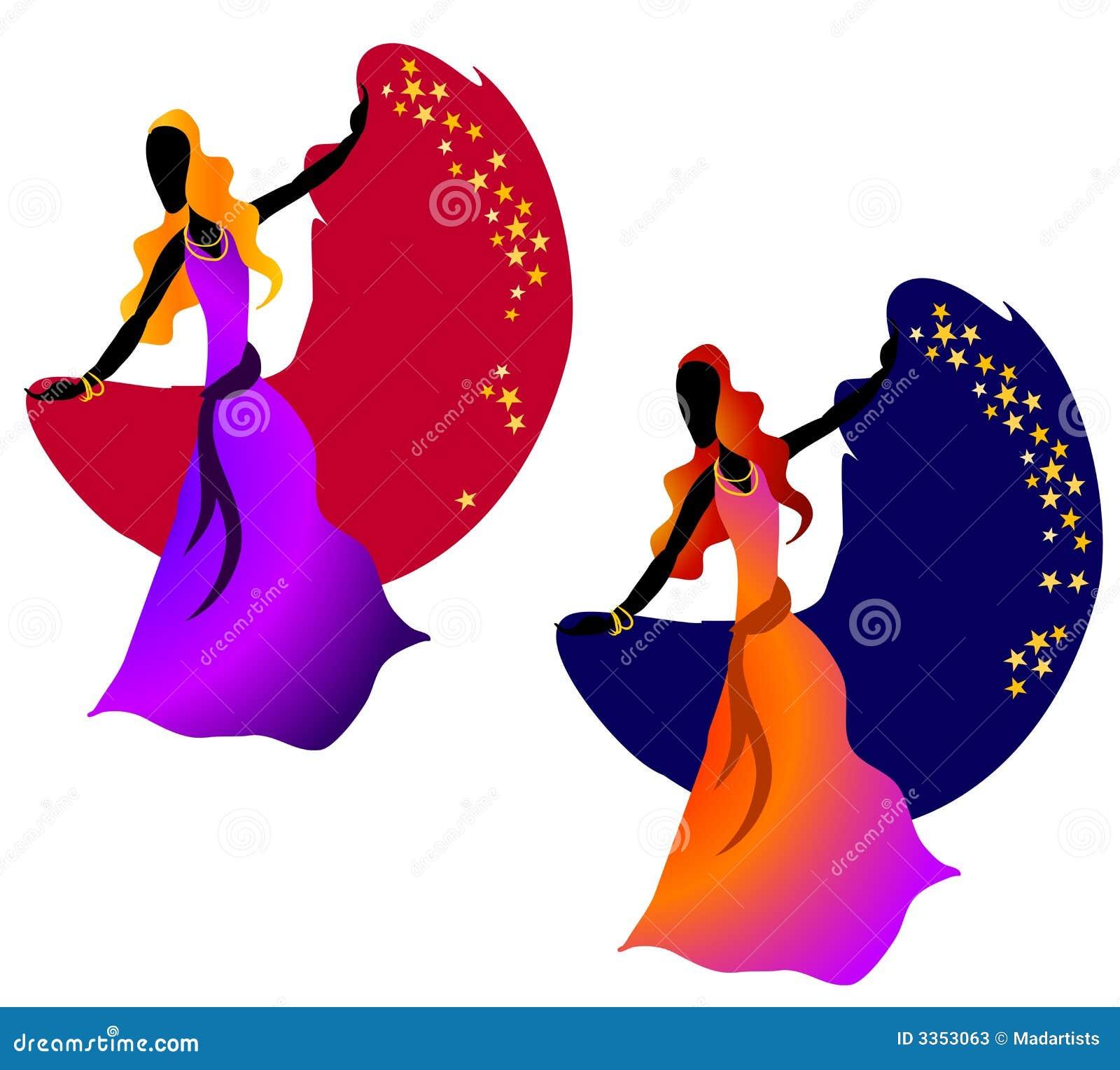 A mulher da dança aciganada Stars 2