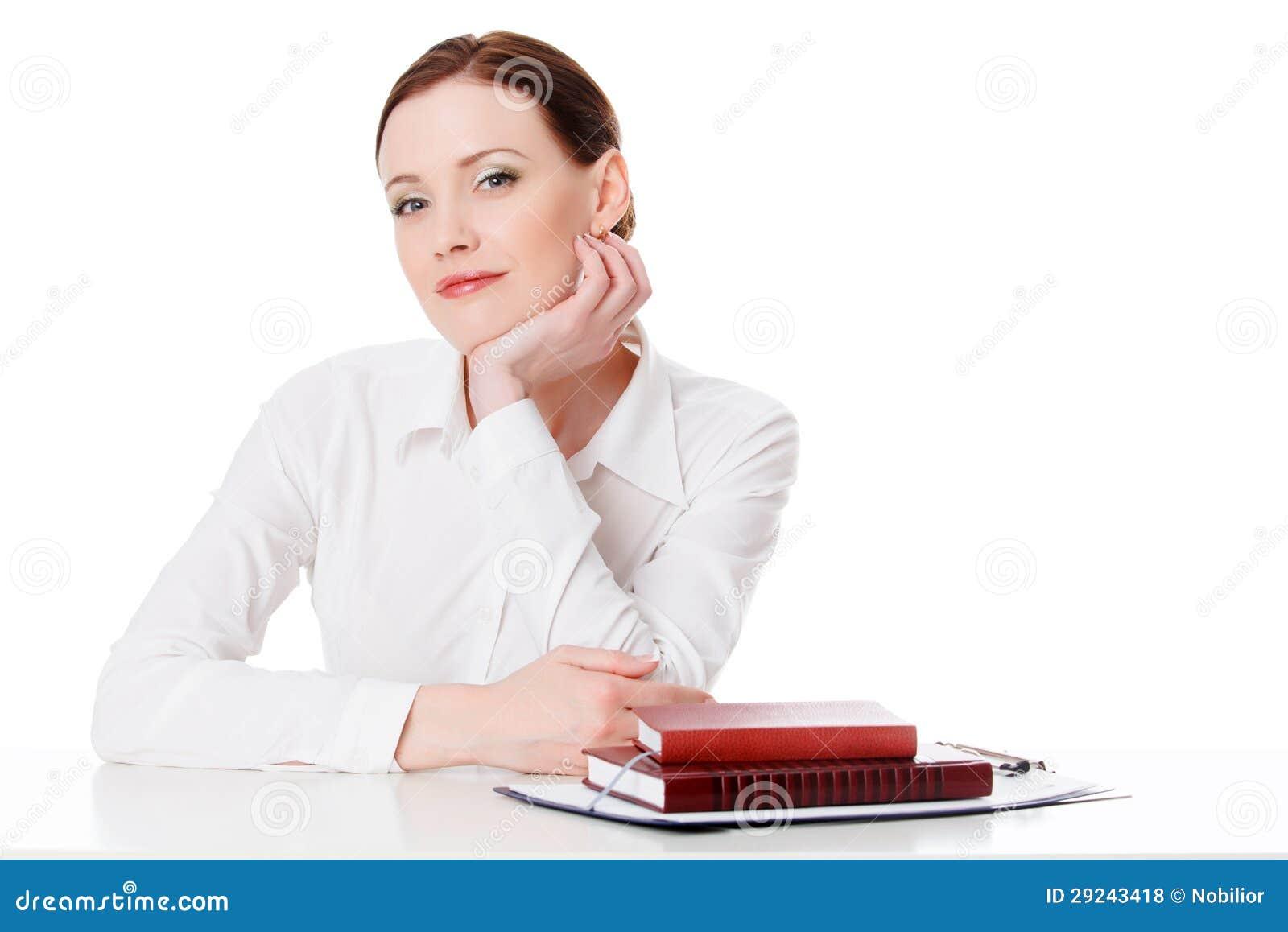 Download Mulher de negócio foto de stock. Imagem de escritório - 29243418