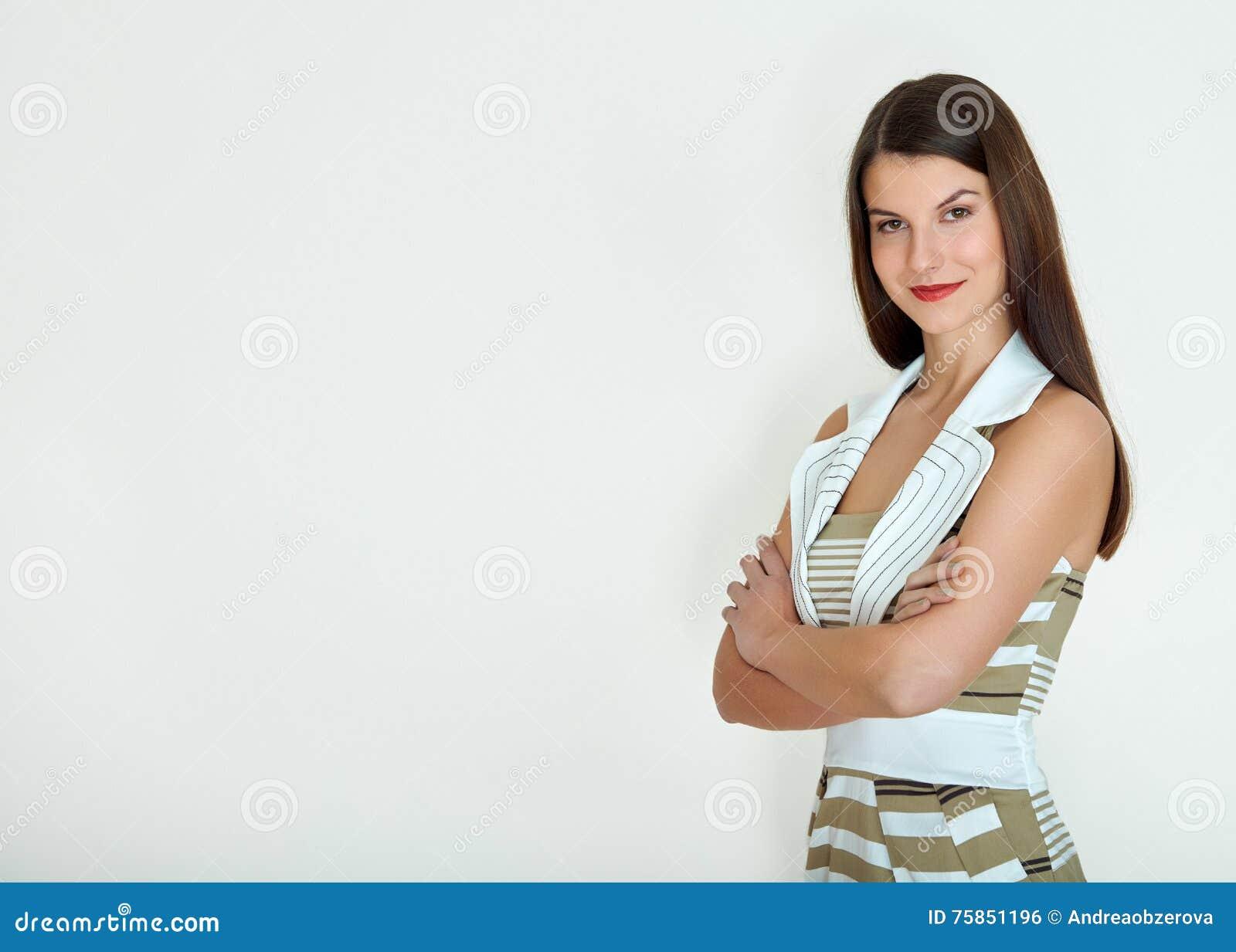 Mulher de negócio - 2 Isolado sobre o fundo branco