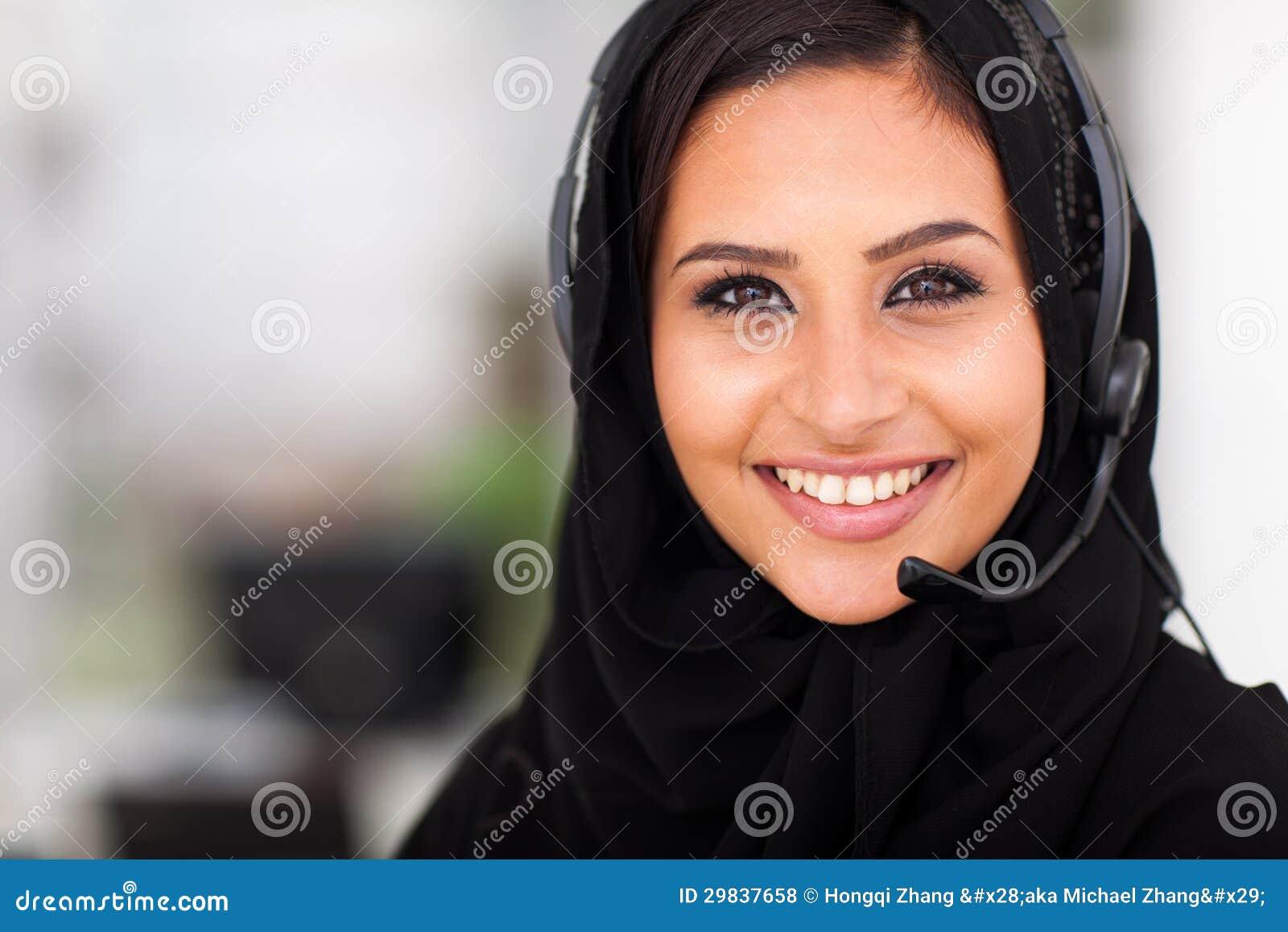 Mulher de negócios do Oriente Médio