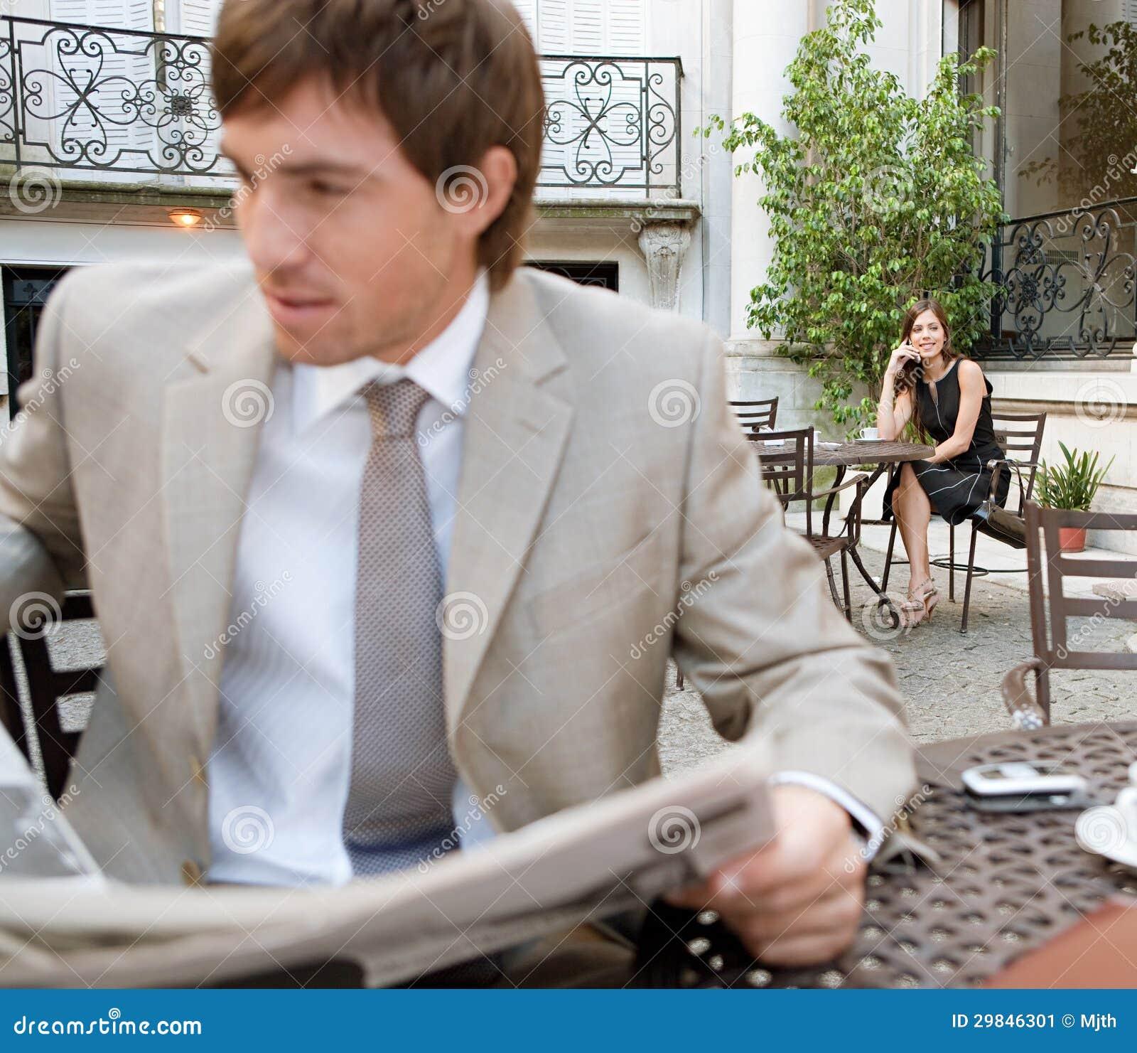 Papel da leitura do homem de negócio.