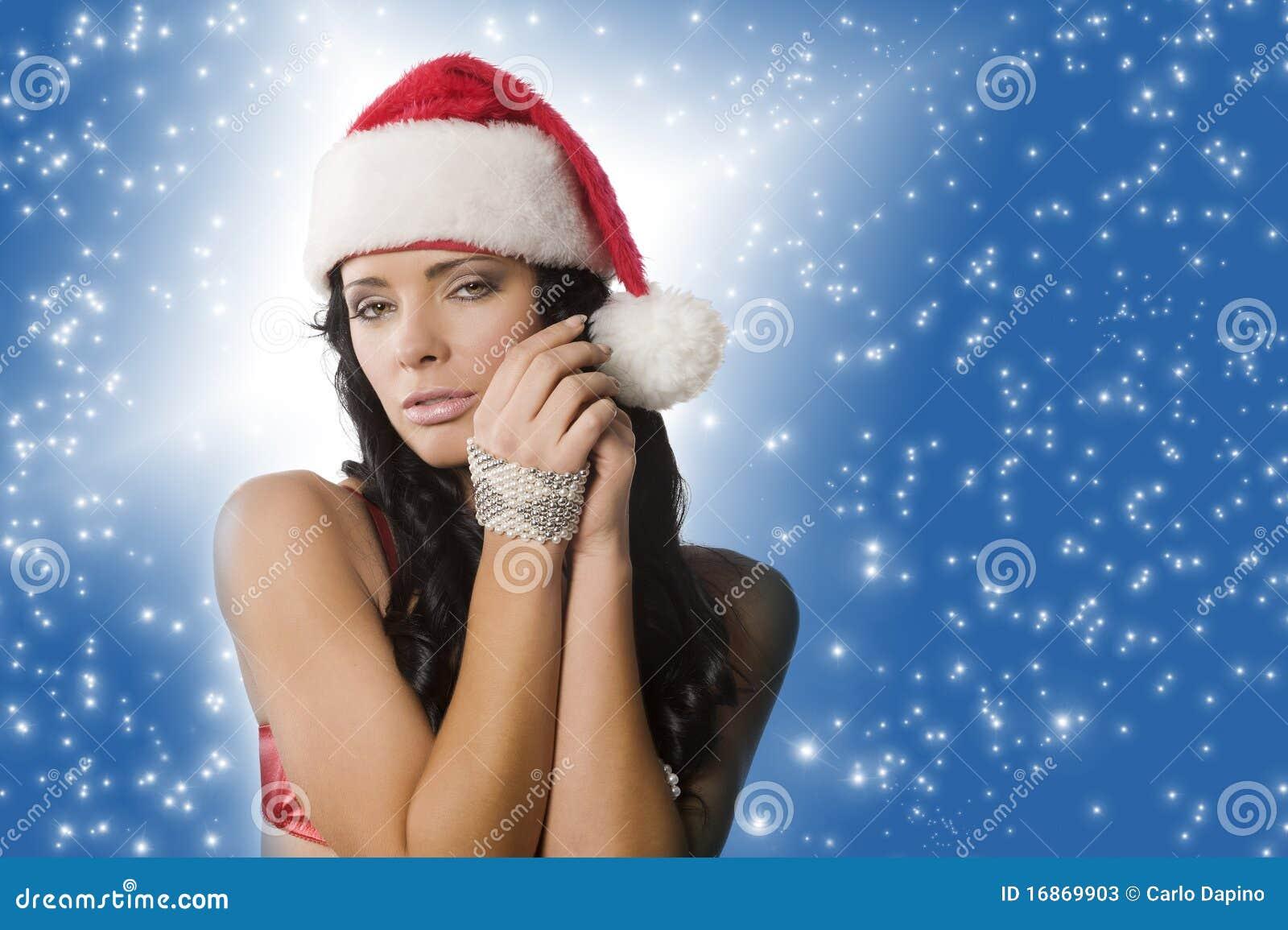 Mulher de Papai Noel