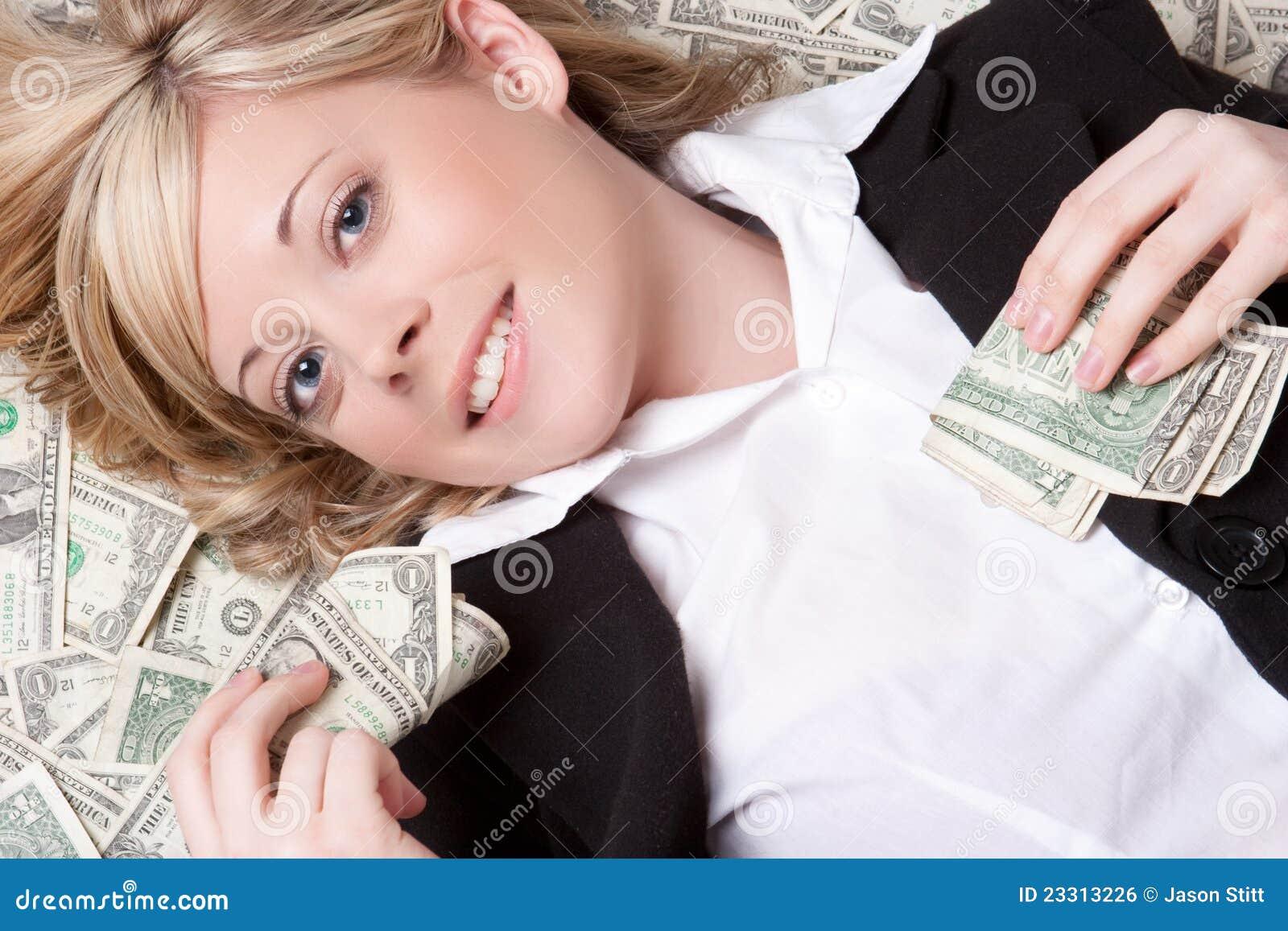 Mulher do dinheiro