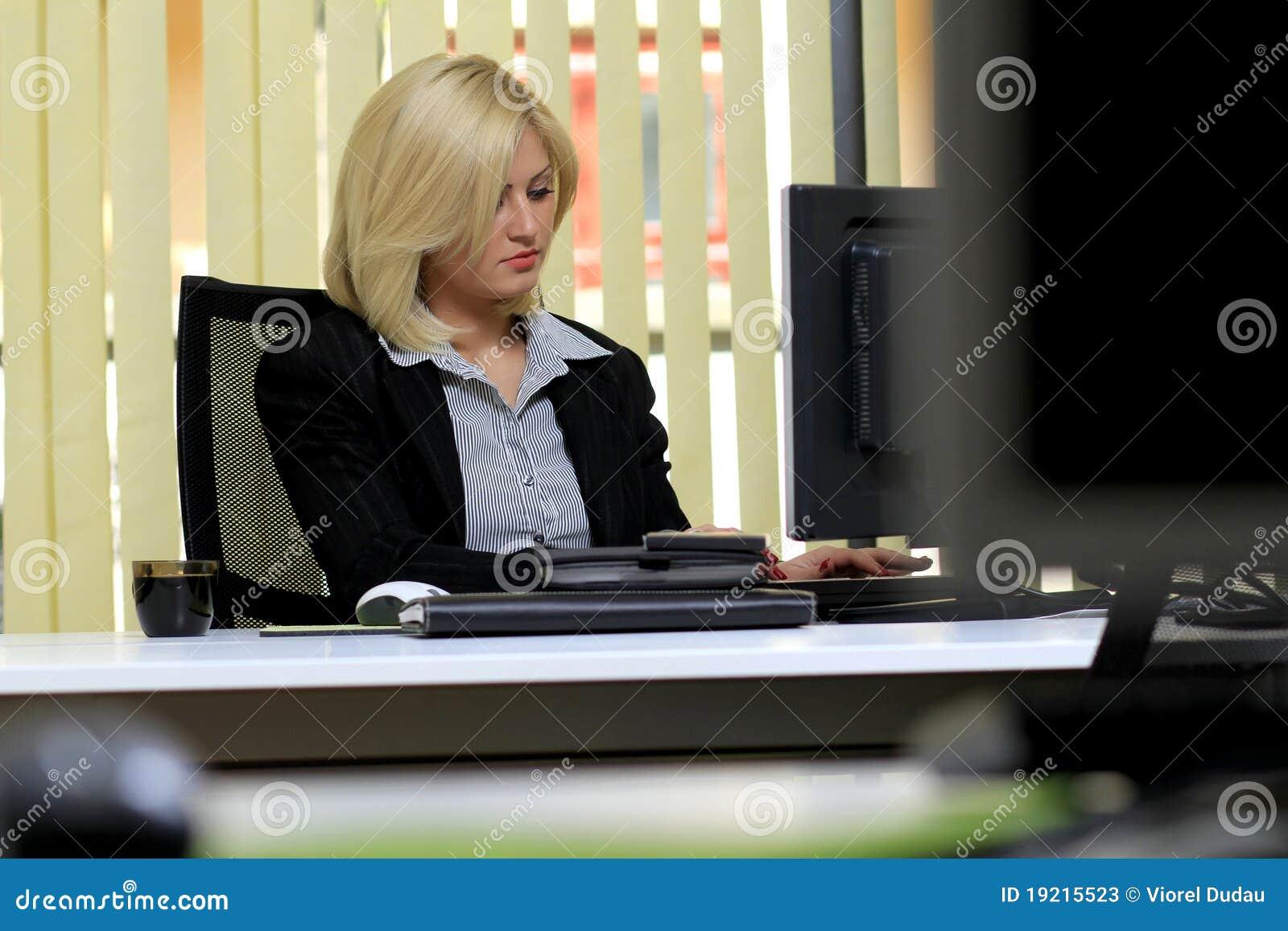 Mulher do escritório