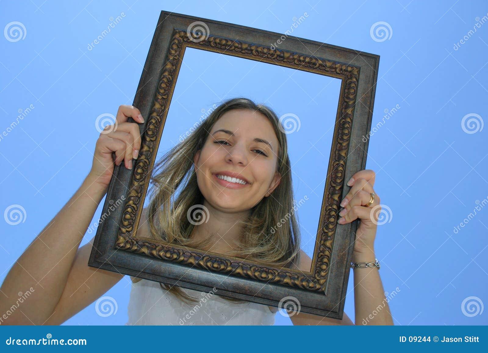 Mulher do frame