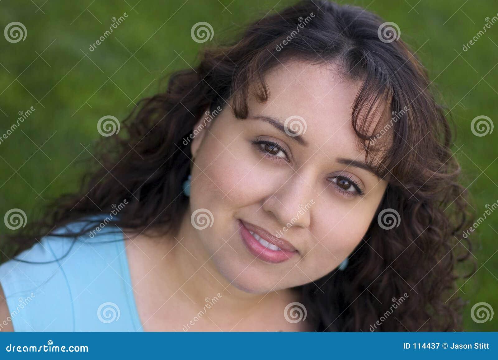 Mulher do sorriso