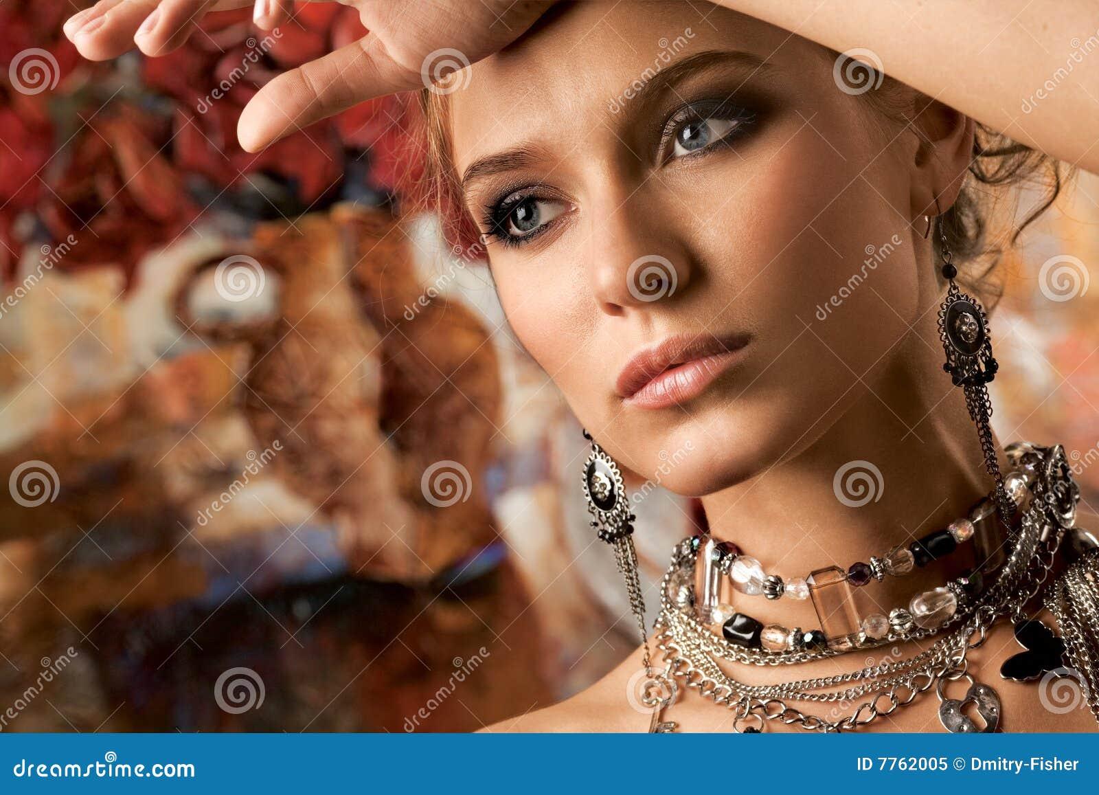 Mulher glamoroso
