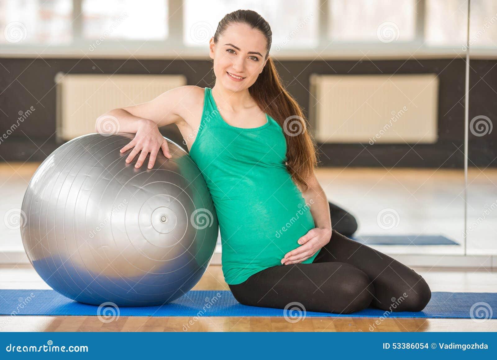 Mulher gravida Aptidão