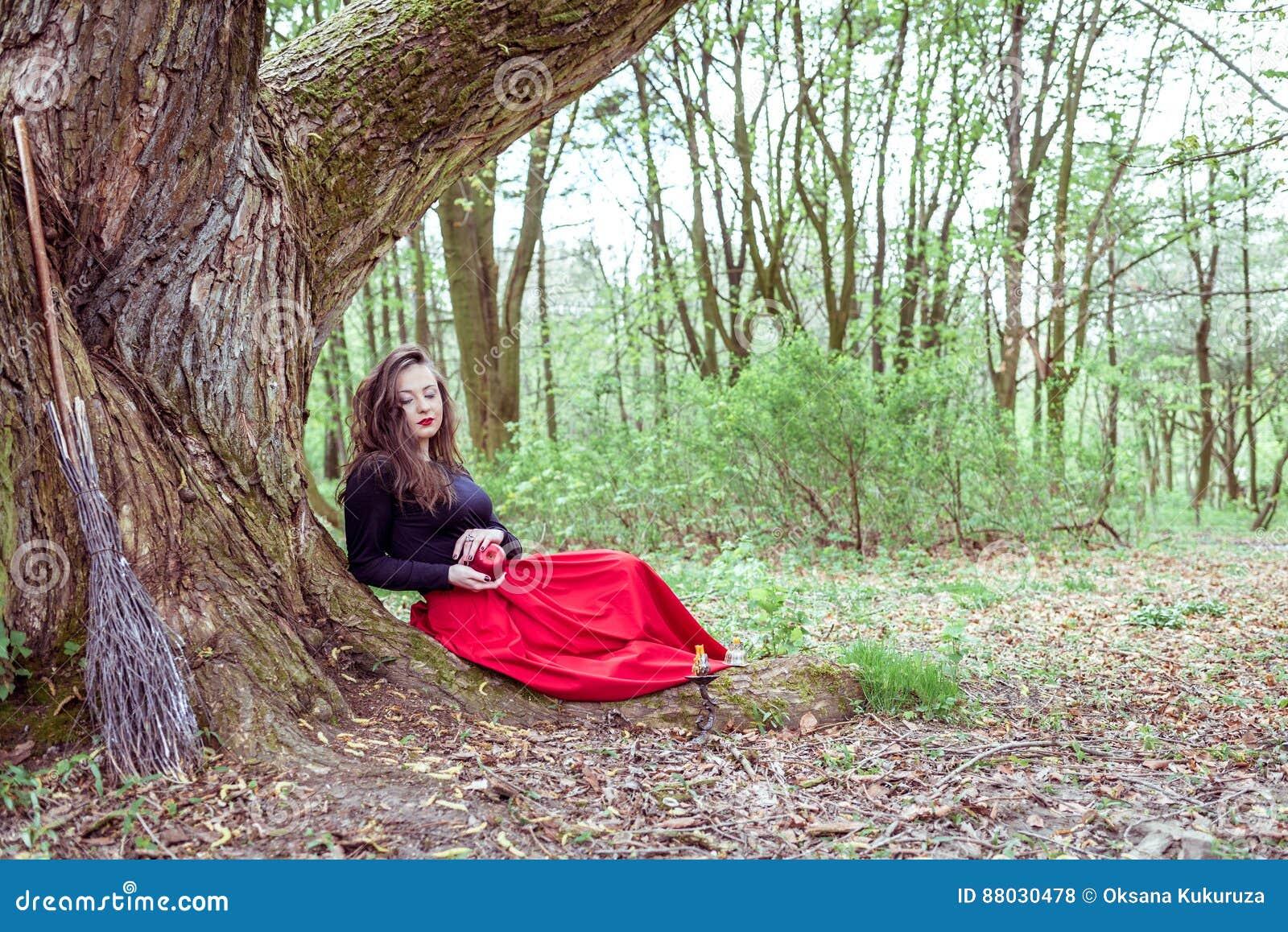 Mulher místico da bruxa