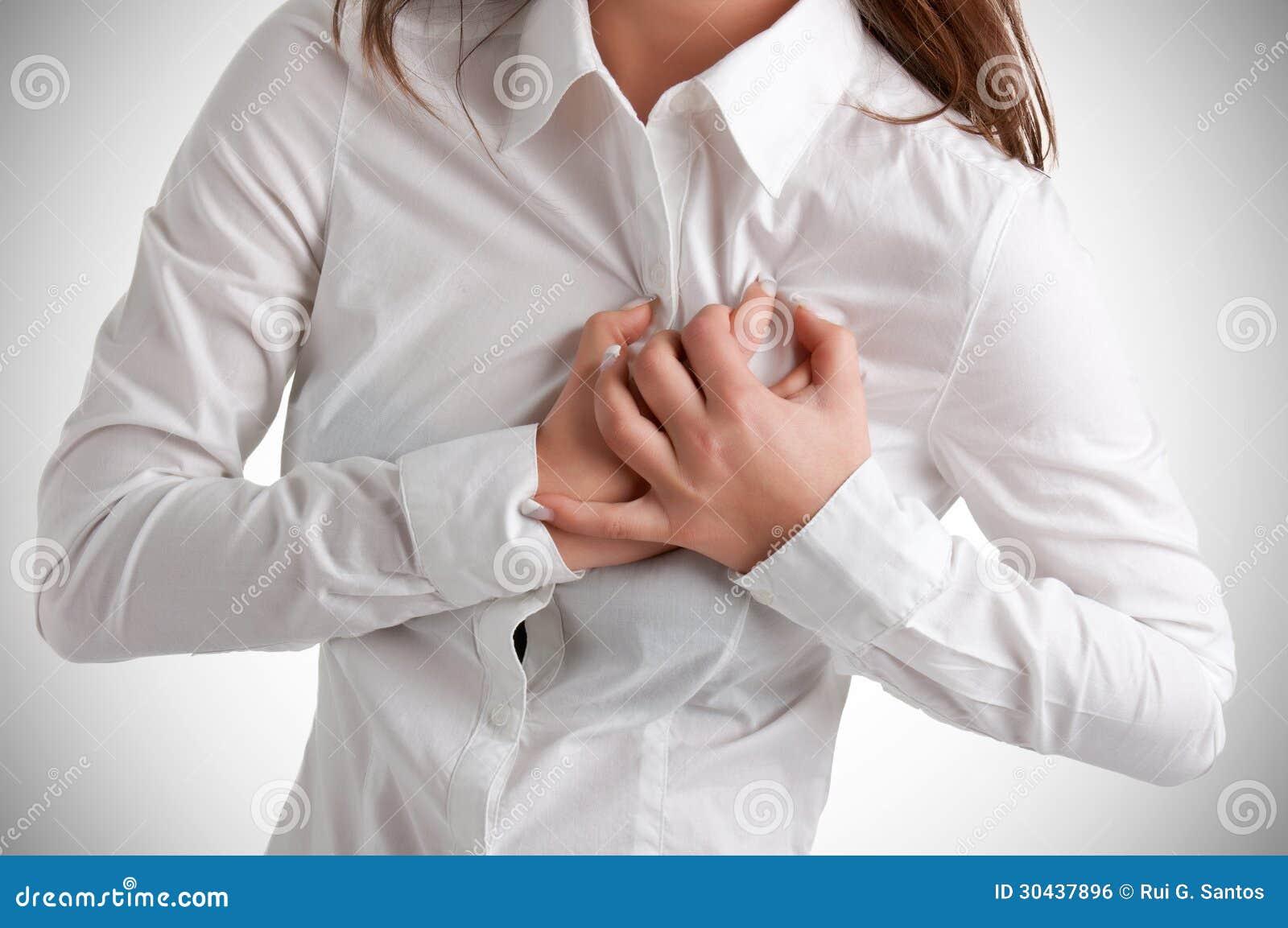 Mulher na dor