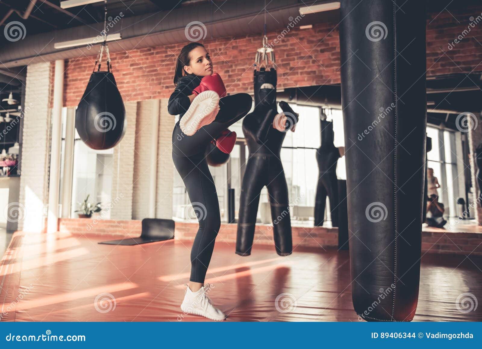 Mulher no gym