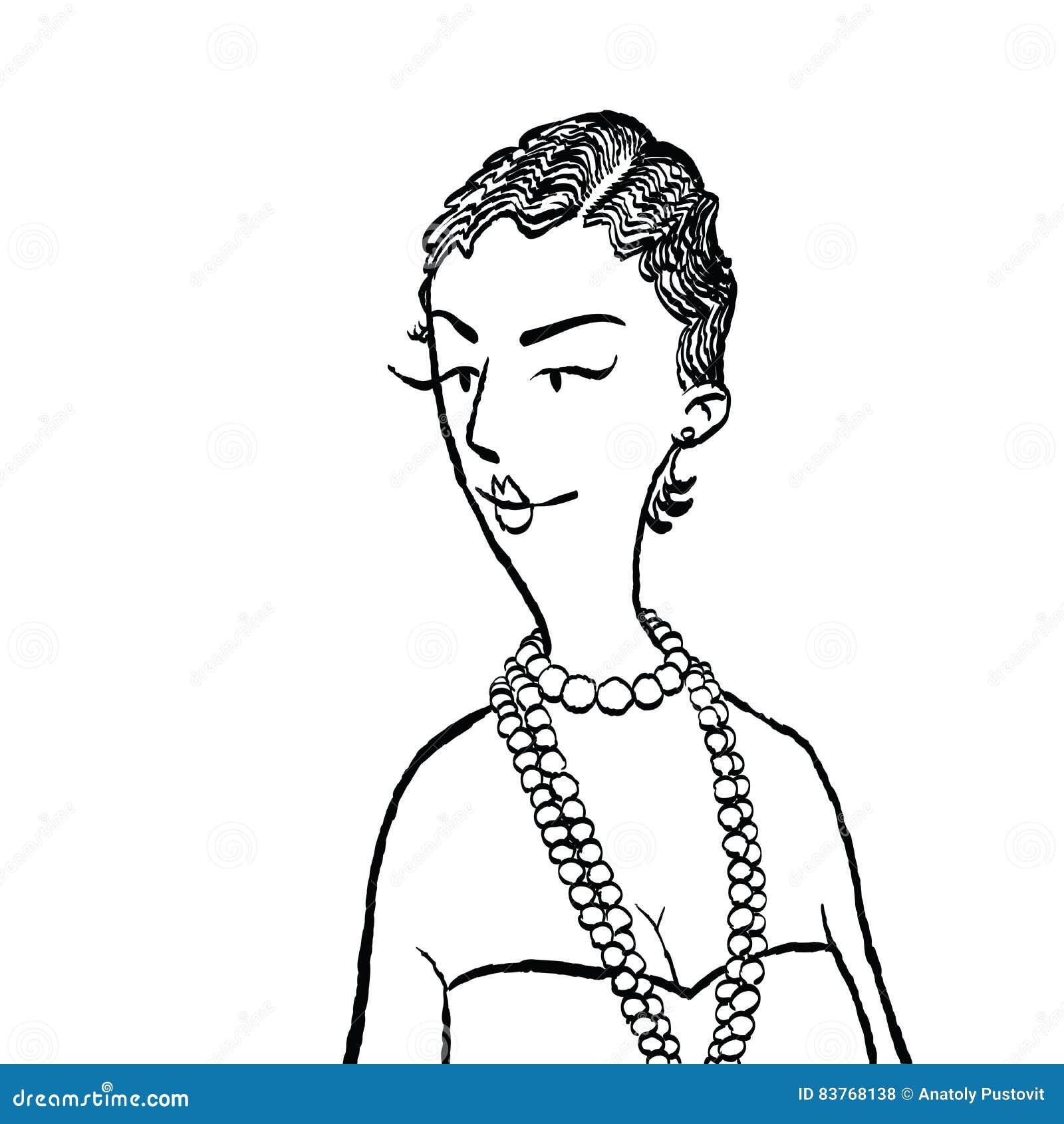Mulher nova com grânulos