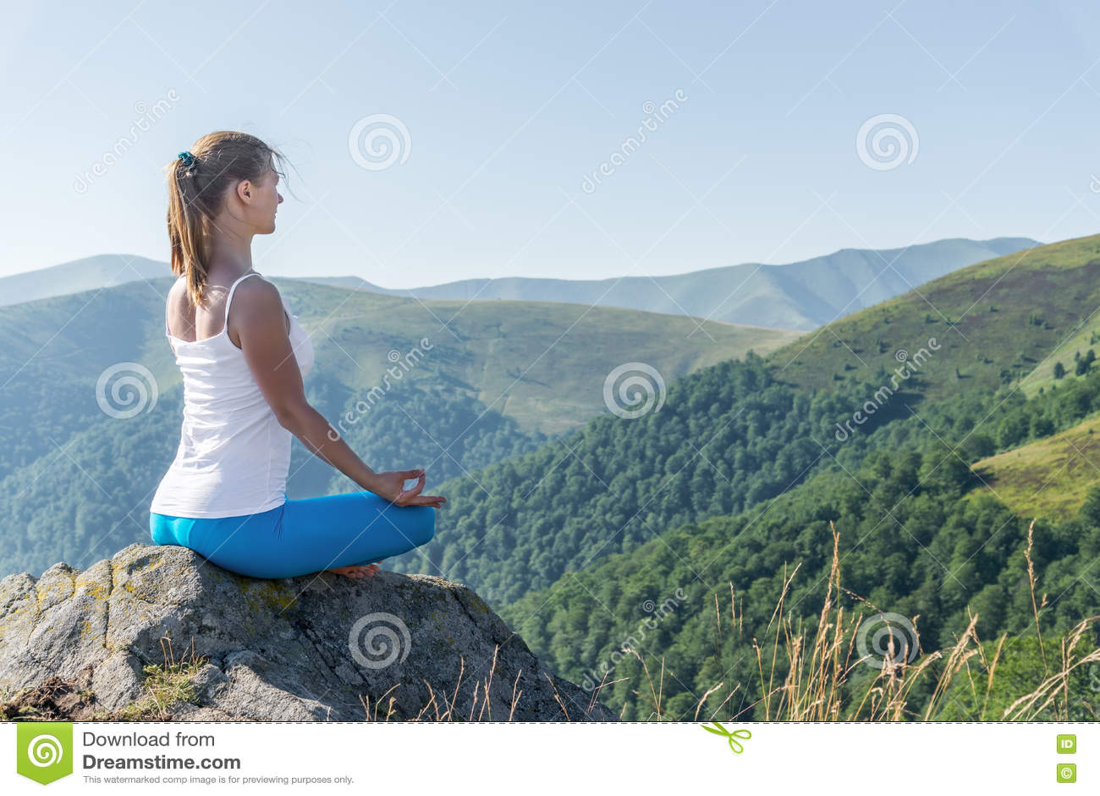 A mulher nova Meditate
