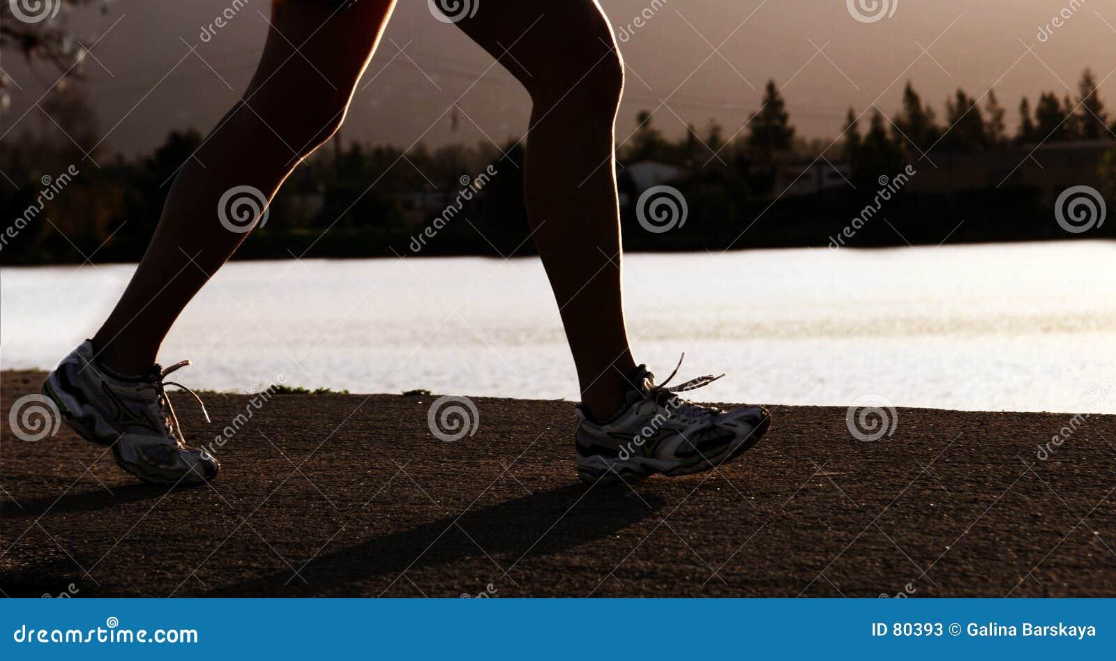 Mulher Running