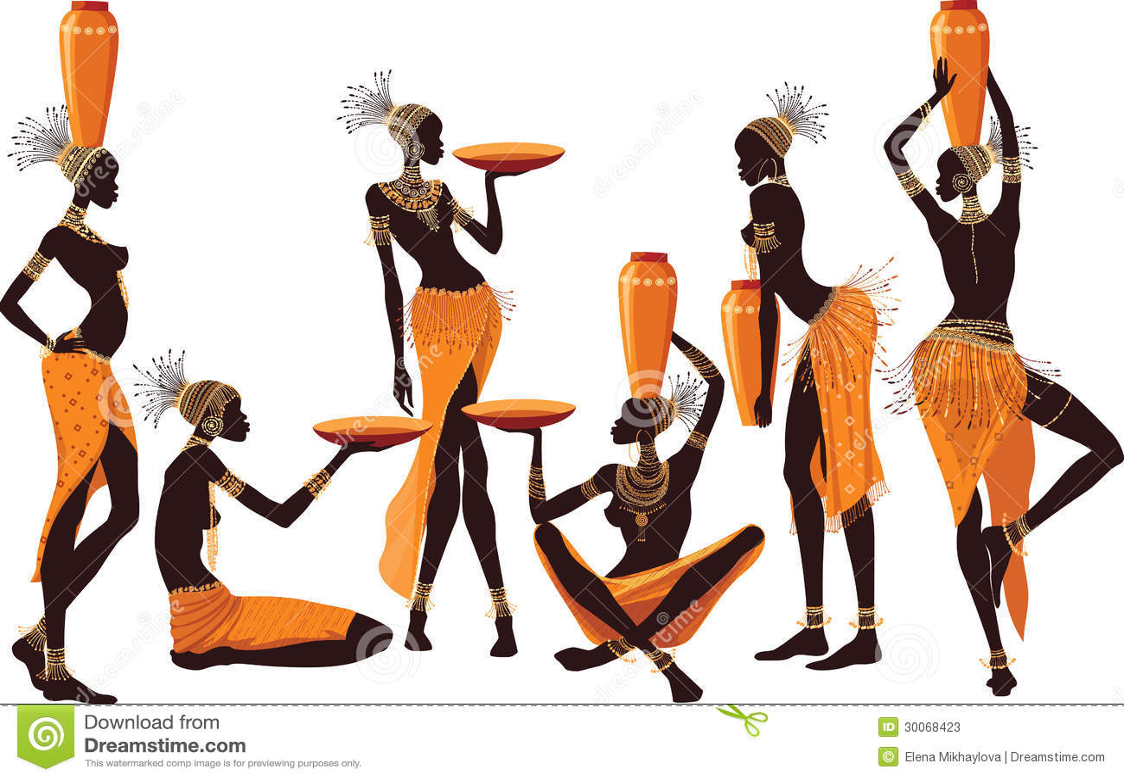 Mulheres africanas