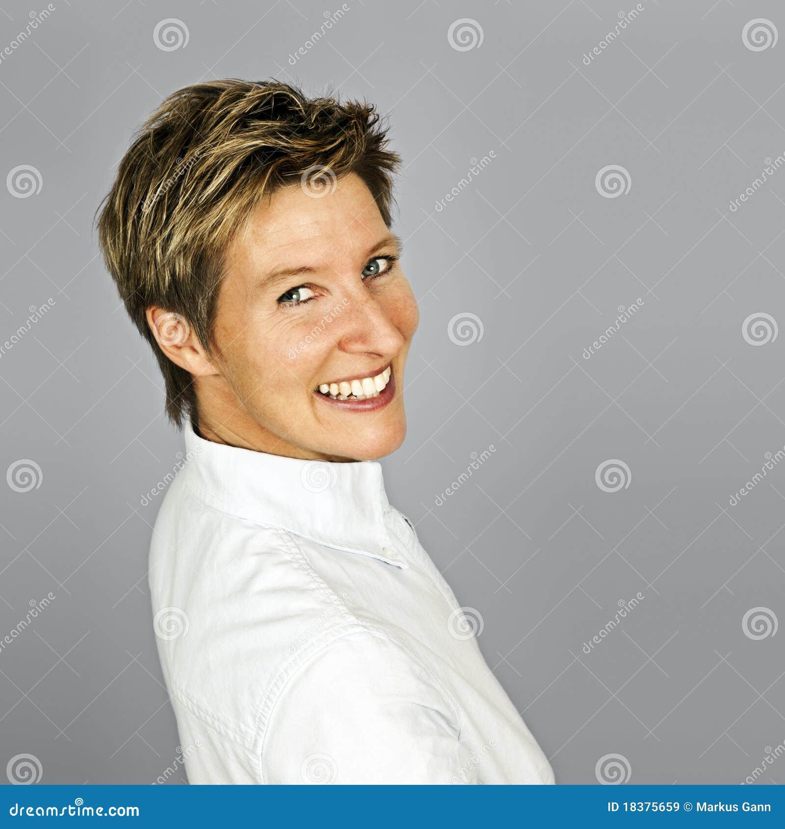 Mulheres de sorriso