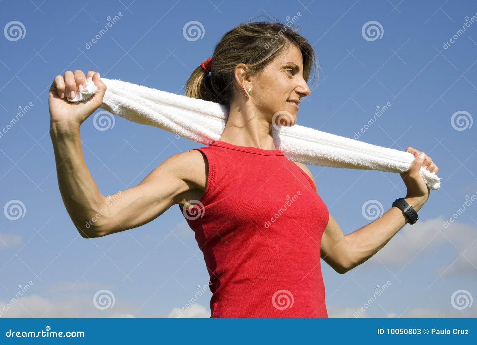 Mulheres desportivas