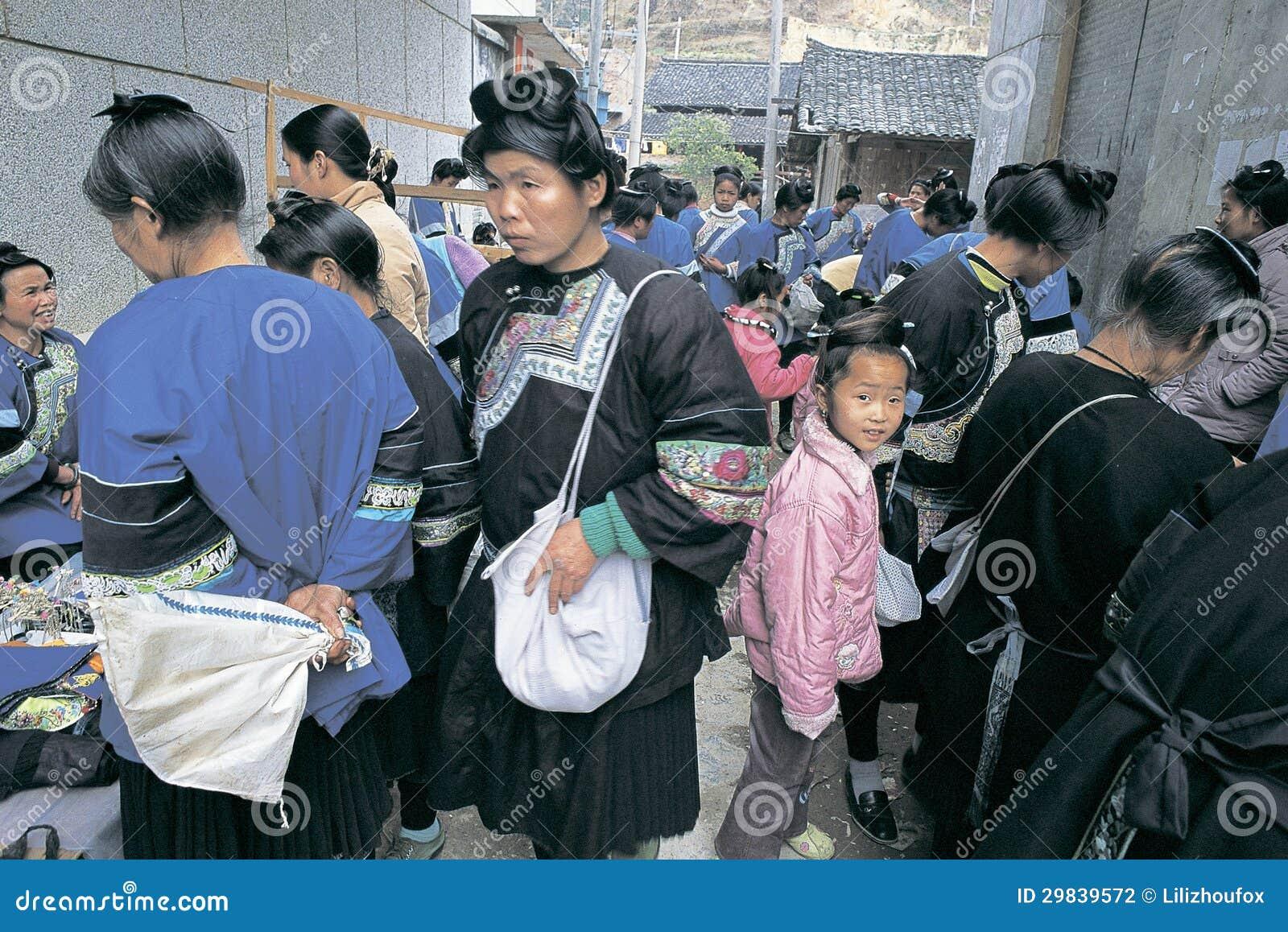 Povos do dong no sudoeste China