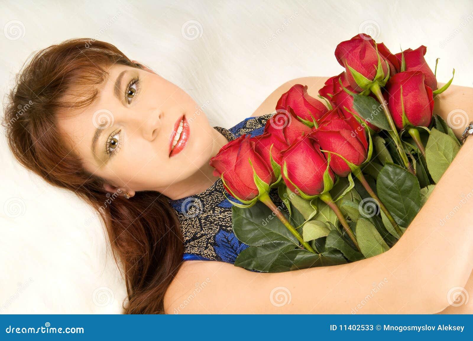 Mulheres e rosas