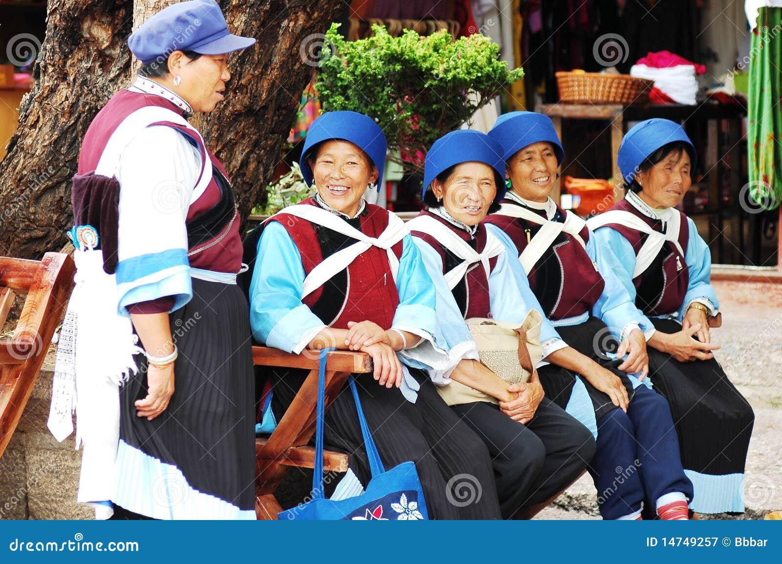 Mulheres locais em Lijiang