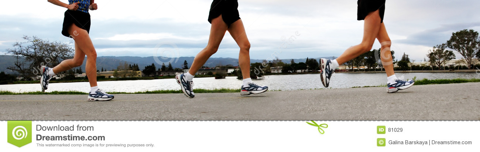 Mulheres Running
