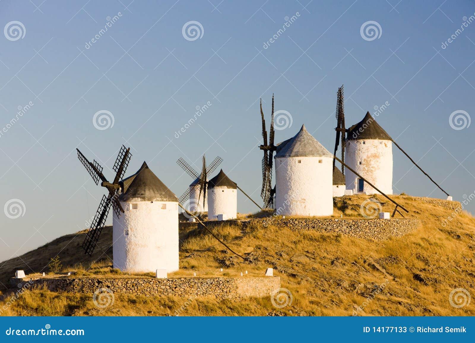 Mulini a vento a Consuegra
