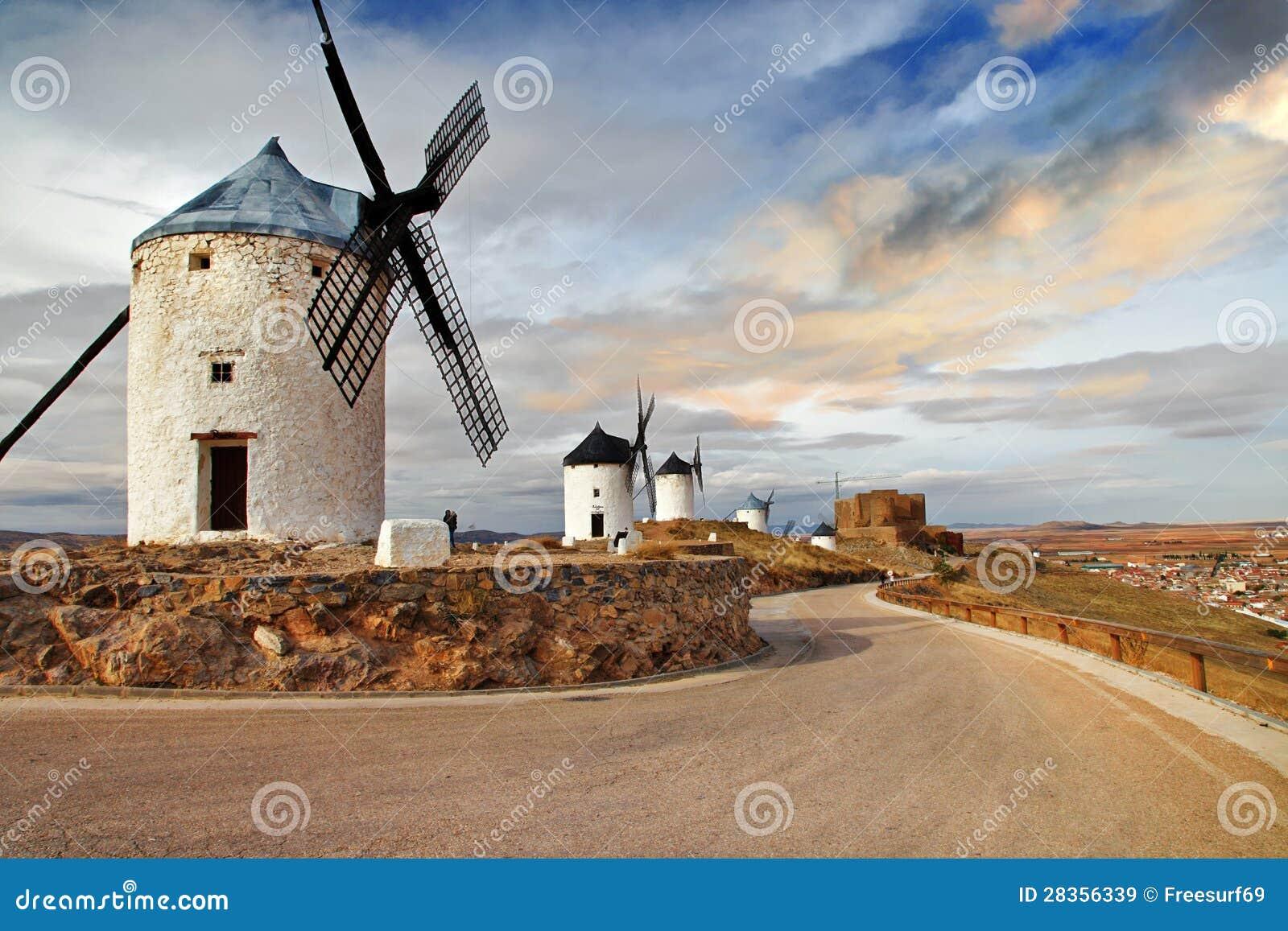 Mulini a vento della Spagna