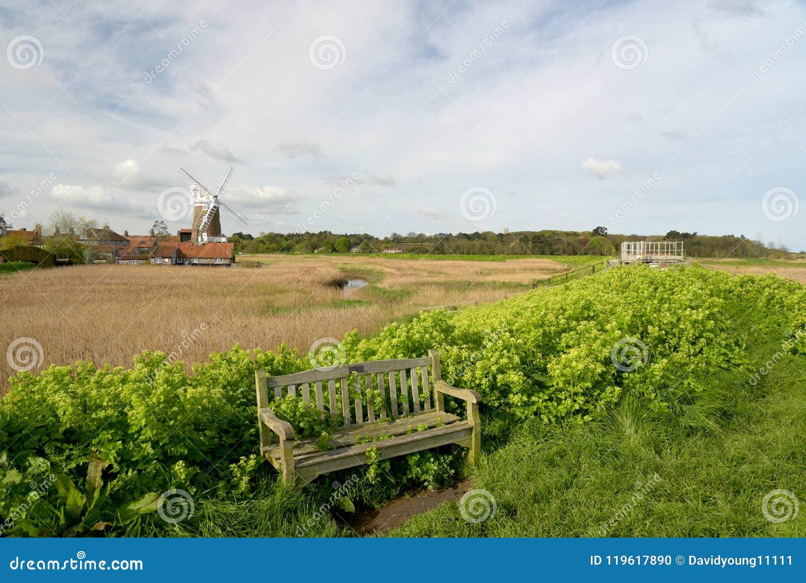 Mulino a vento al Cley-seguente--mare, Norfolk