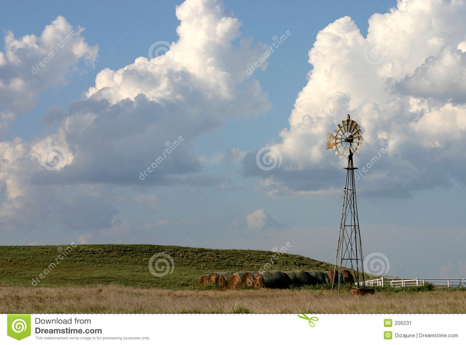 Mulino a vento del Texas