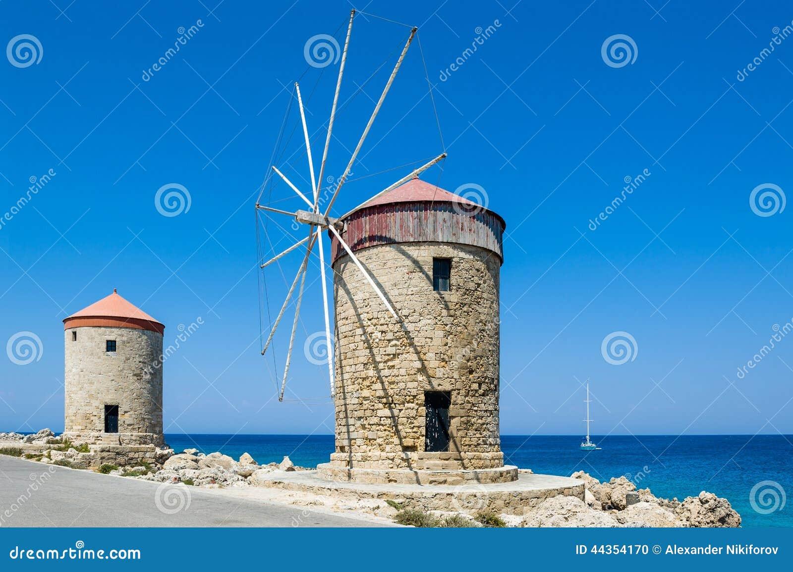 Mulino a vento a Rodi