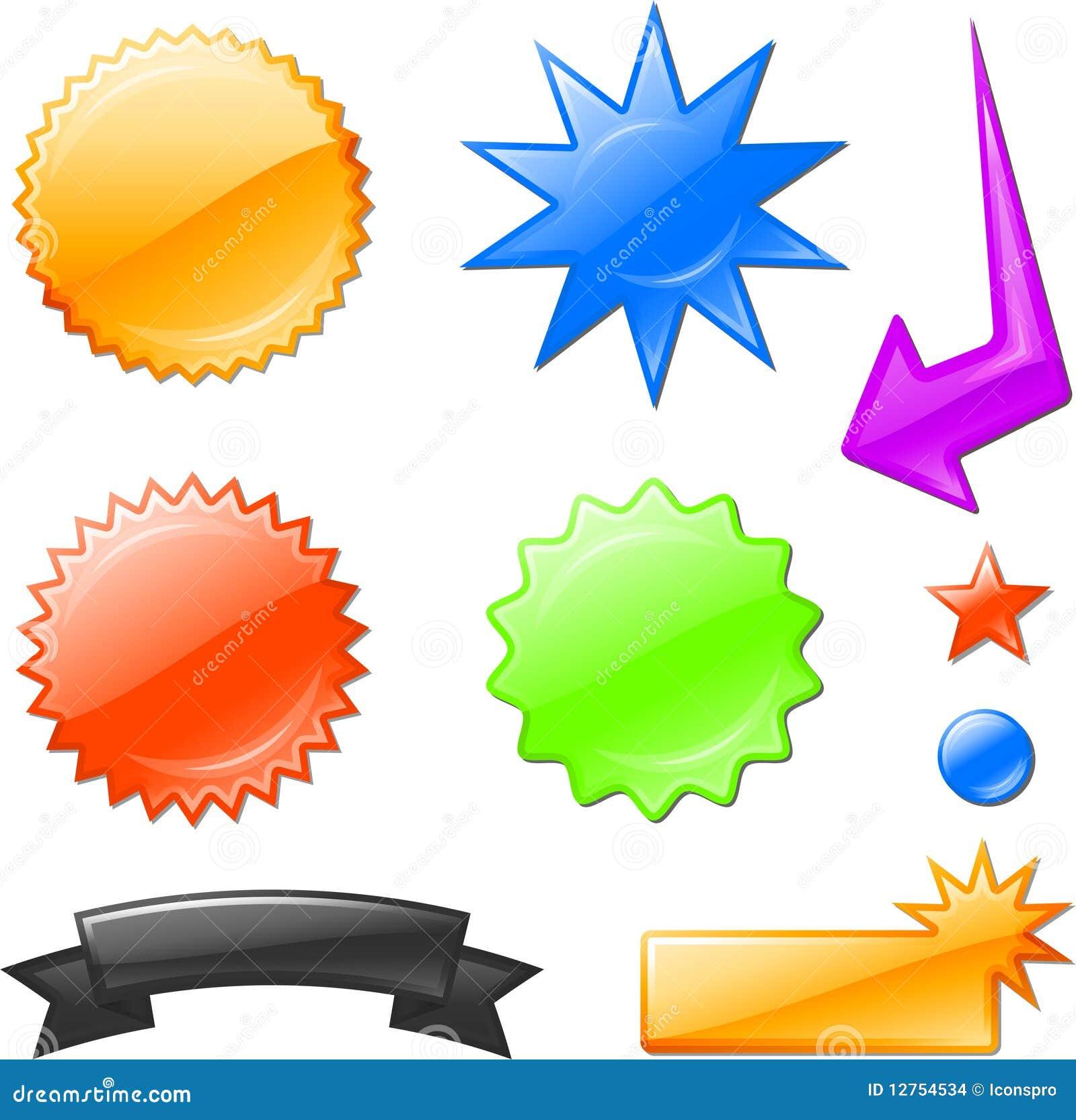 mulit ha colorato i disegni di burst della stella immagini stock ... - Disegno Stella Colorate