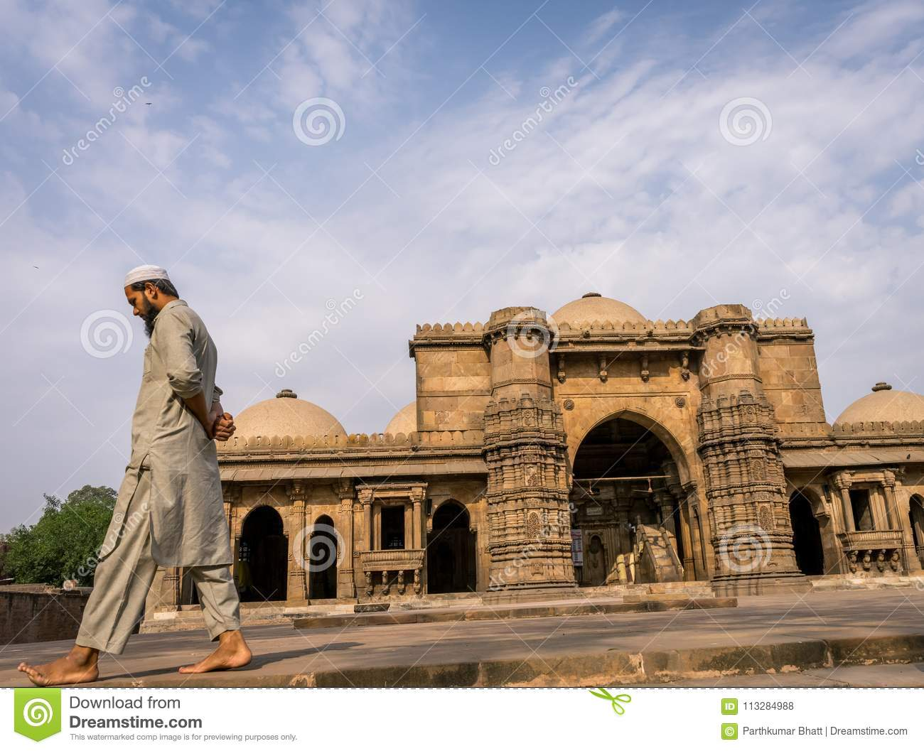 Mullah at Mosque editorial stock photo  Image of mosque