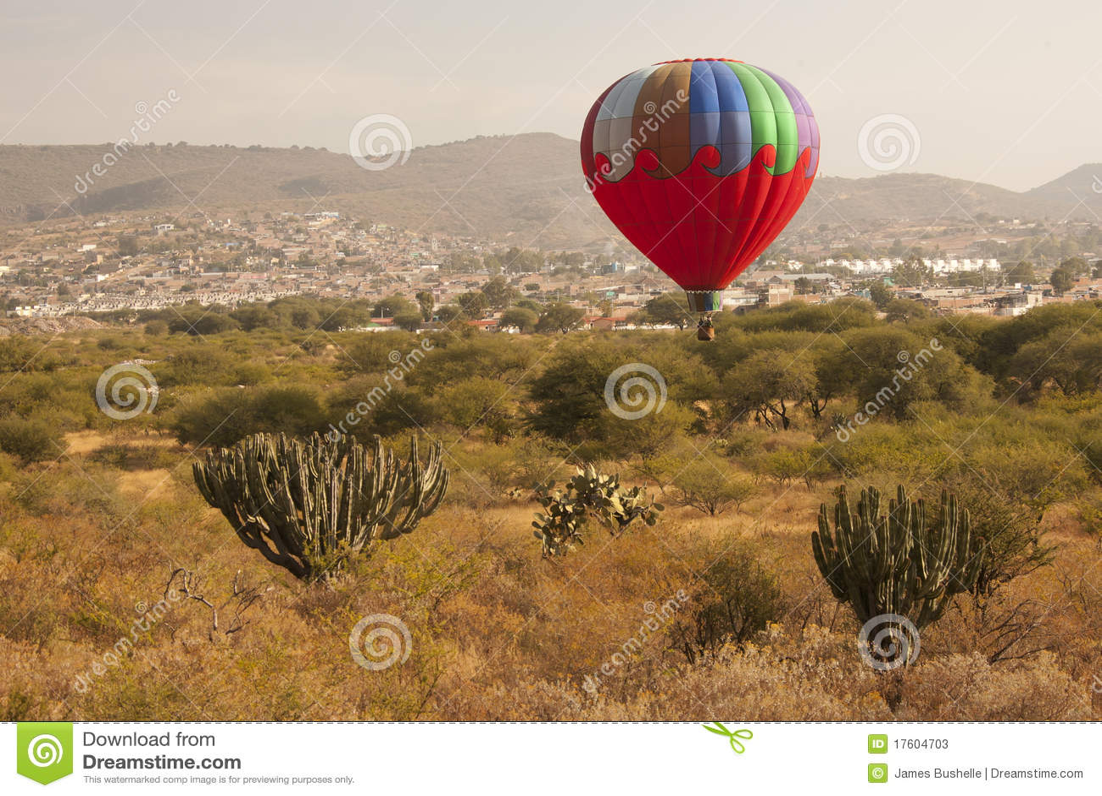 Multi цвета воздушного шара горячее