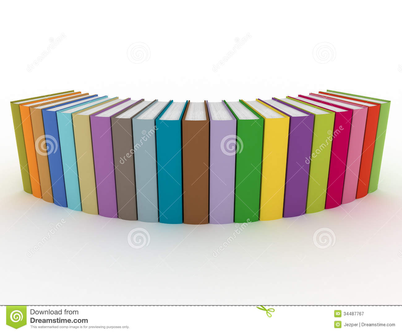 royalty free stock photo download multi color books - Color Books