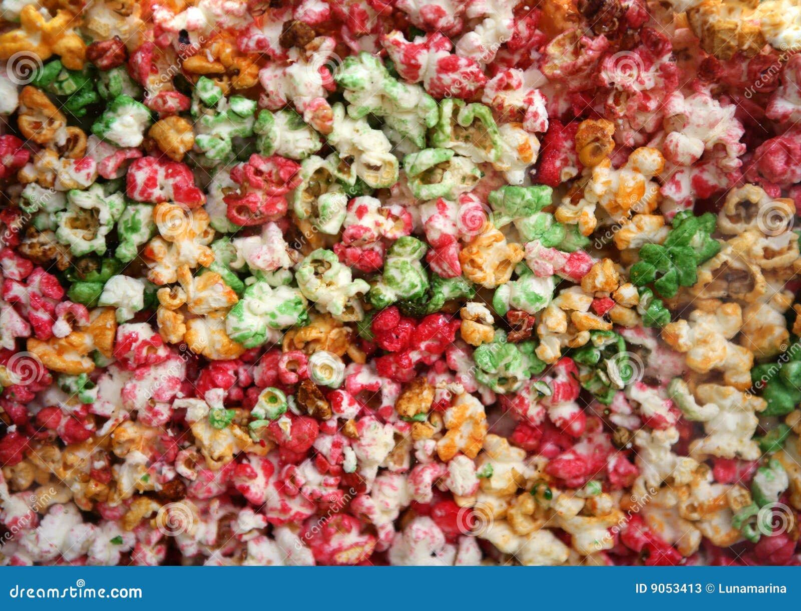 multi color sweet pop corn macro - Pop Corn Color