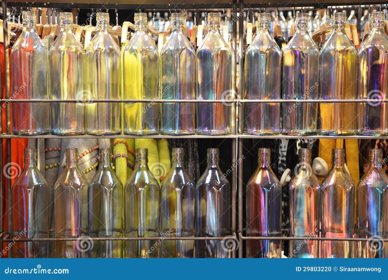 Multi Colored Bottles Stock Photo Image 29803220