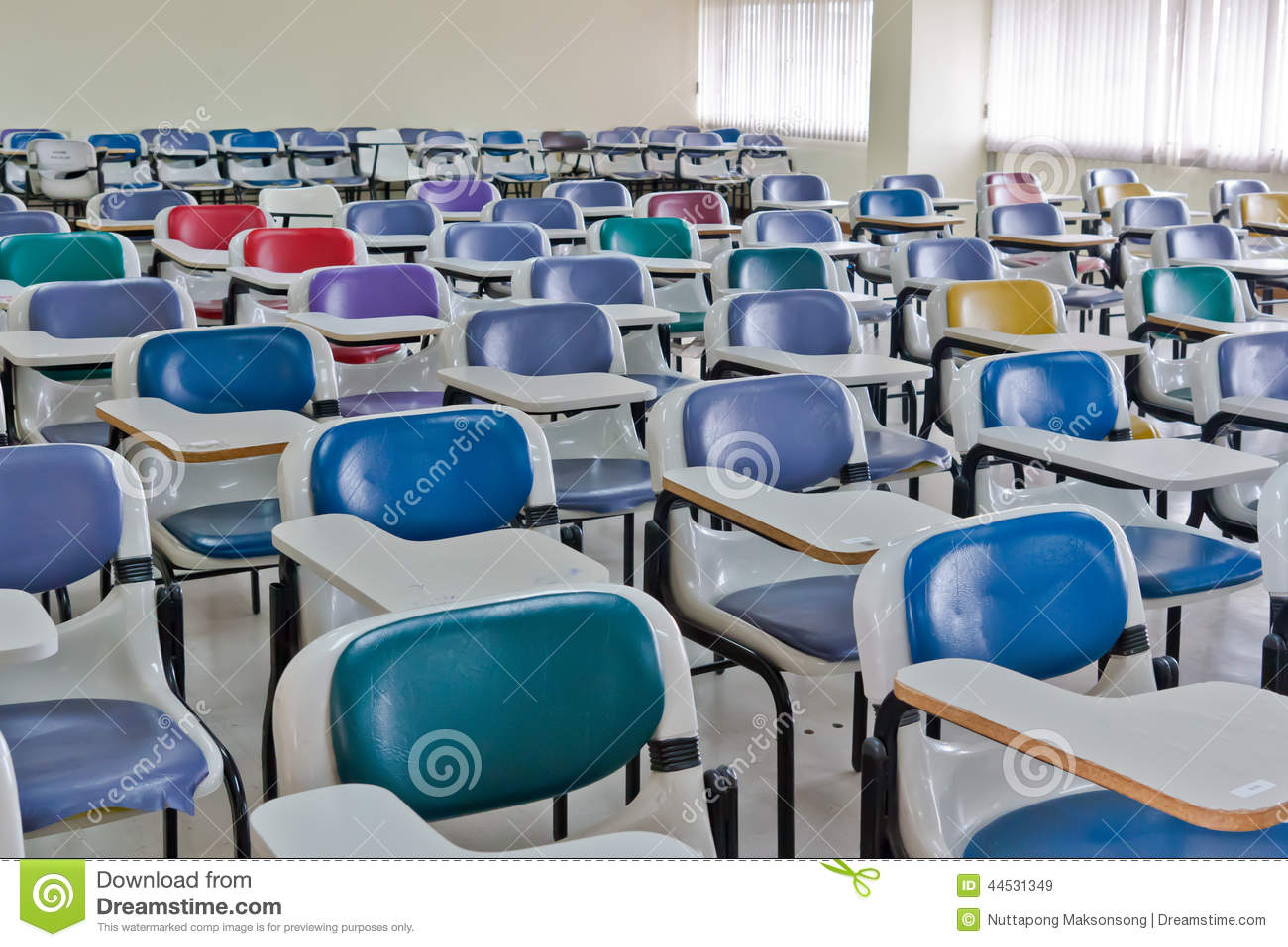 Meeting Room Multi Color Chairs